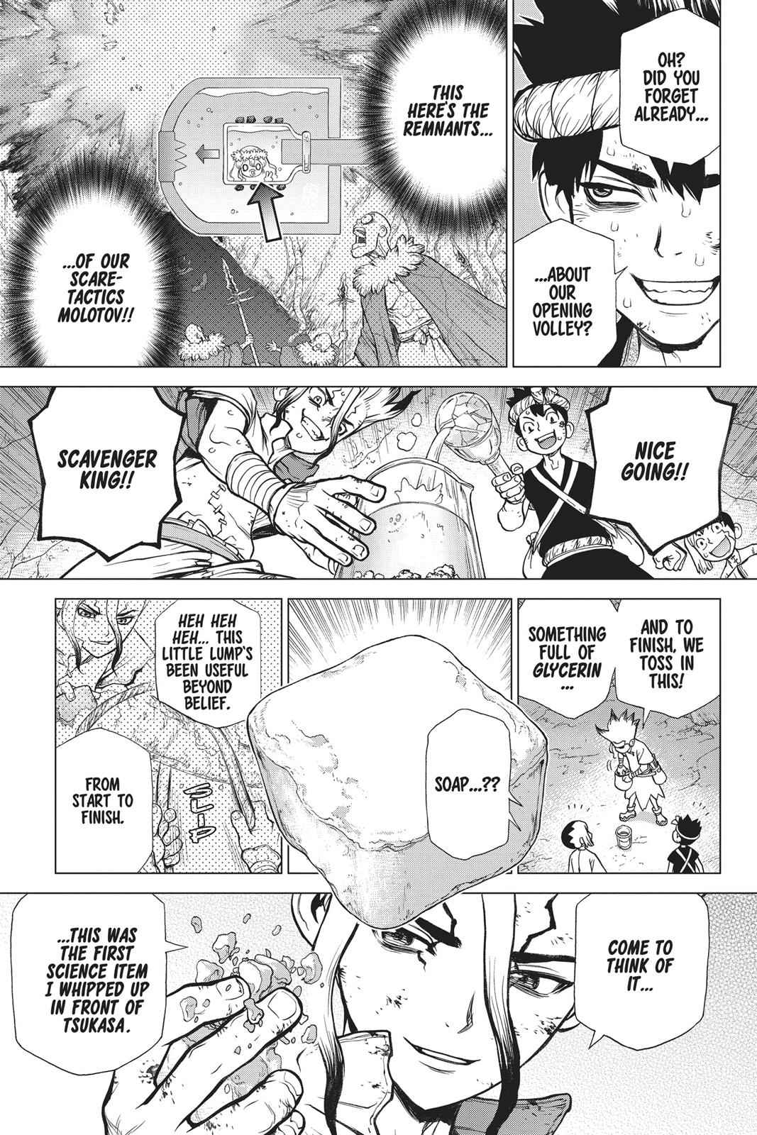 Dr. Stone Chapter 77 Page 12