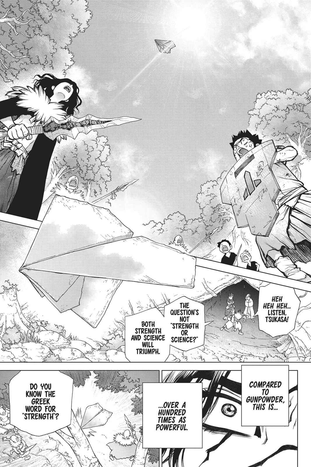 Dr. Stone Chapter 77 Page 18