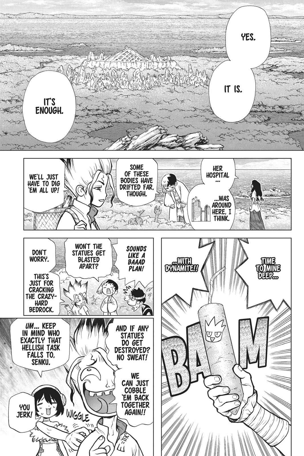 Dr. Stone Chapter 78 Page 14