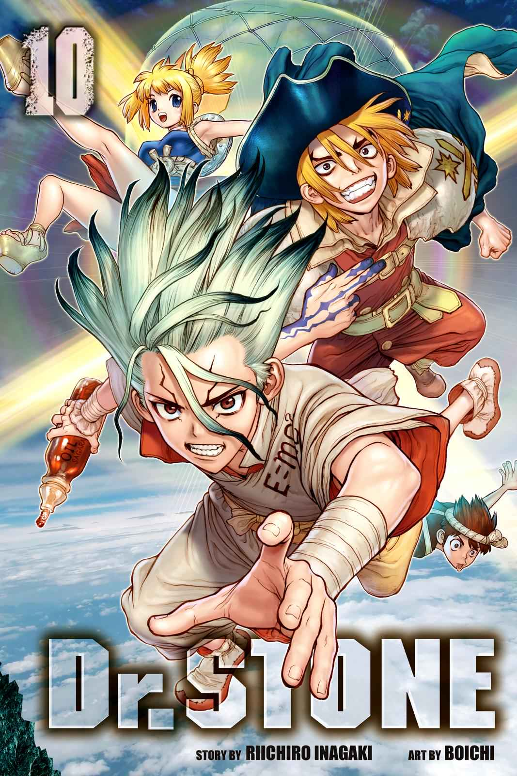 Dr. Stone Chapter 80 Page 1