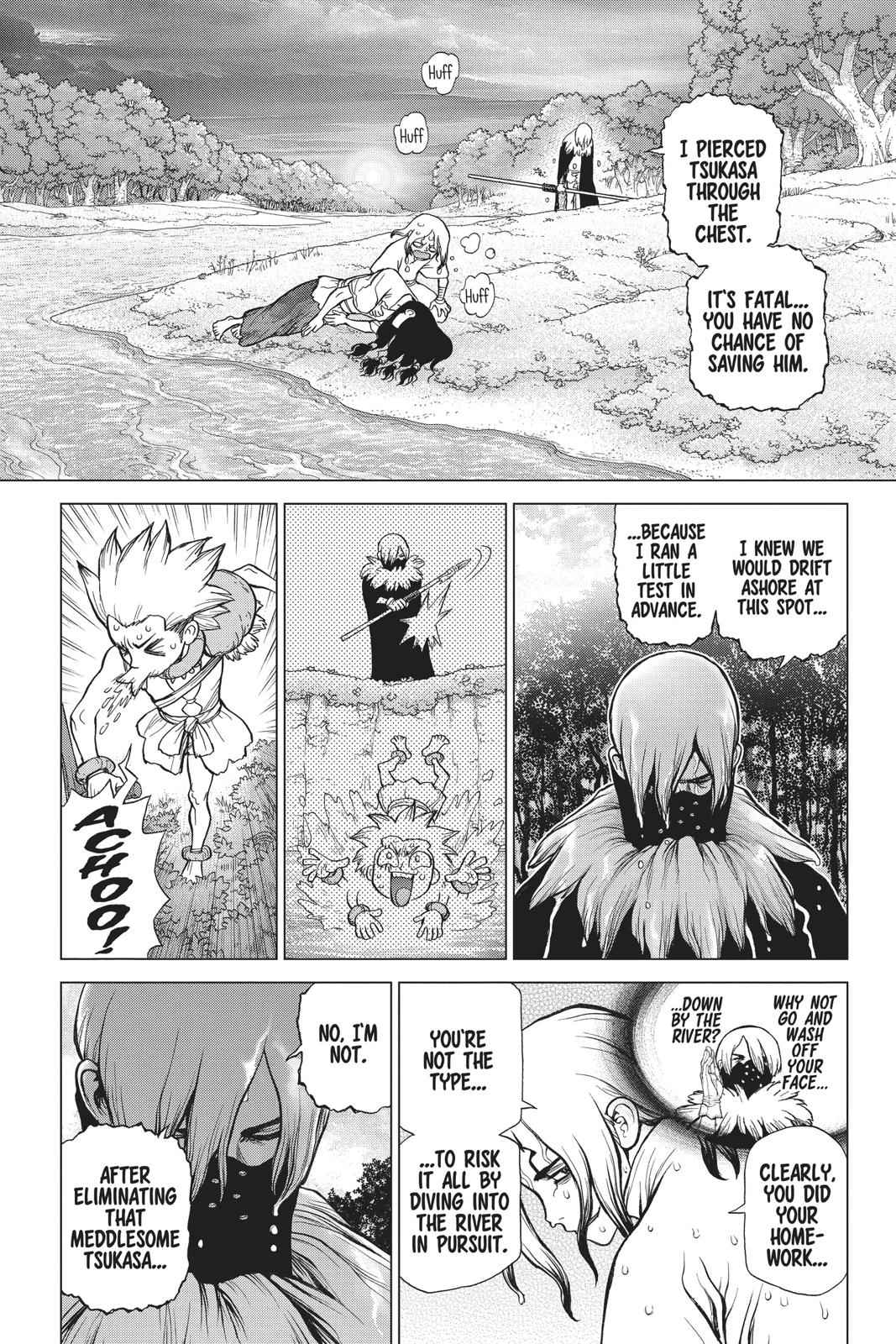 Dr. Stone Chapter 80 Page 11