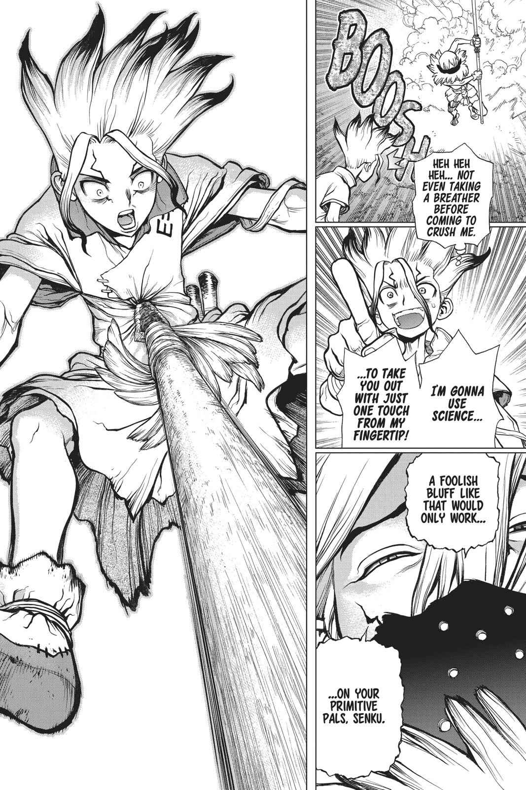 Dr. Stone Chapter 81 Page 8