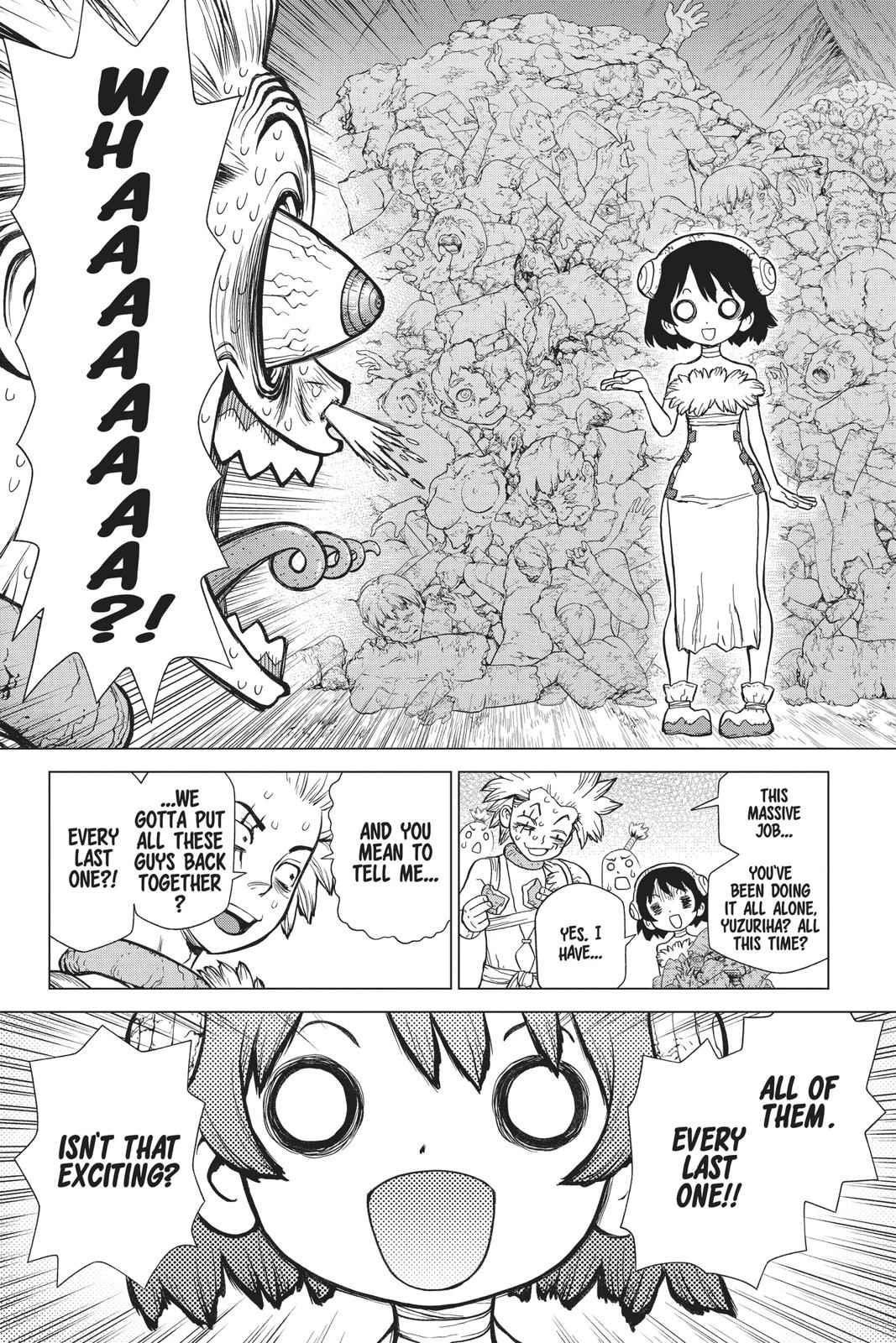 Dr. Stone Chapter 82 Page 11
