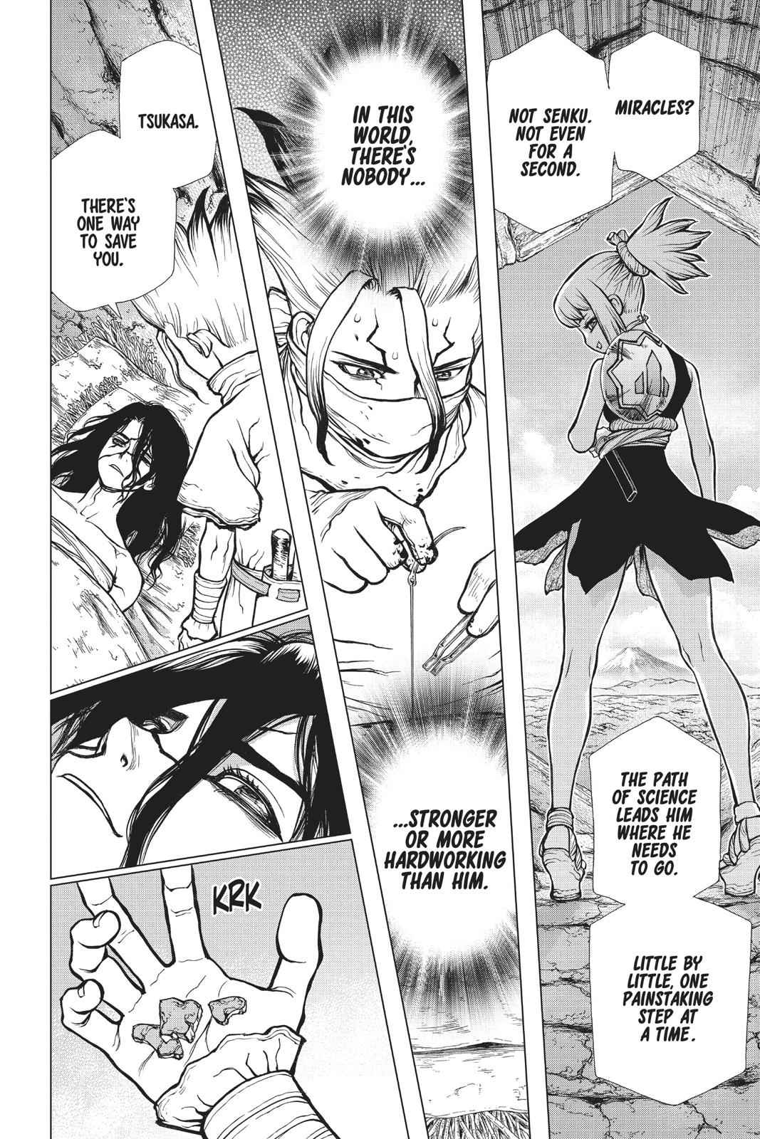 Dr. Stone Chapter 82 Page 17