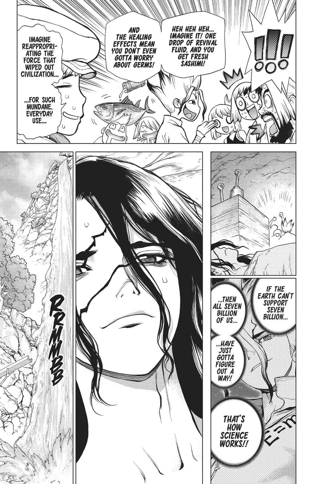 Dr. Stone Chapter 83 Page 14