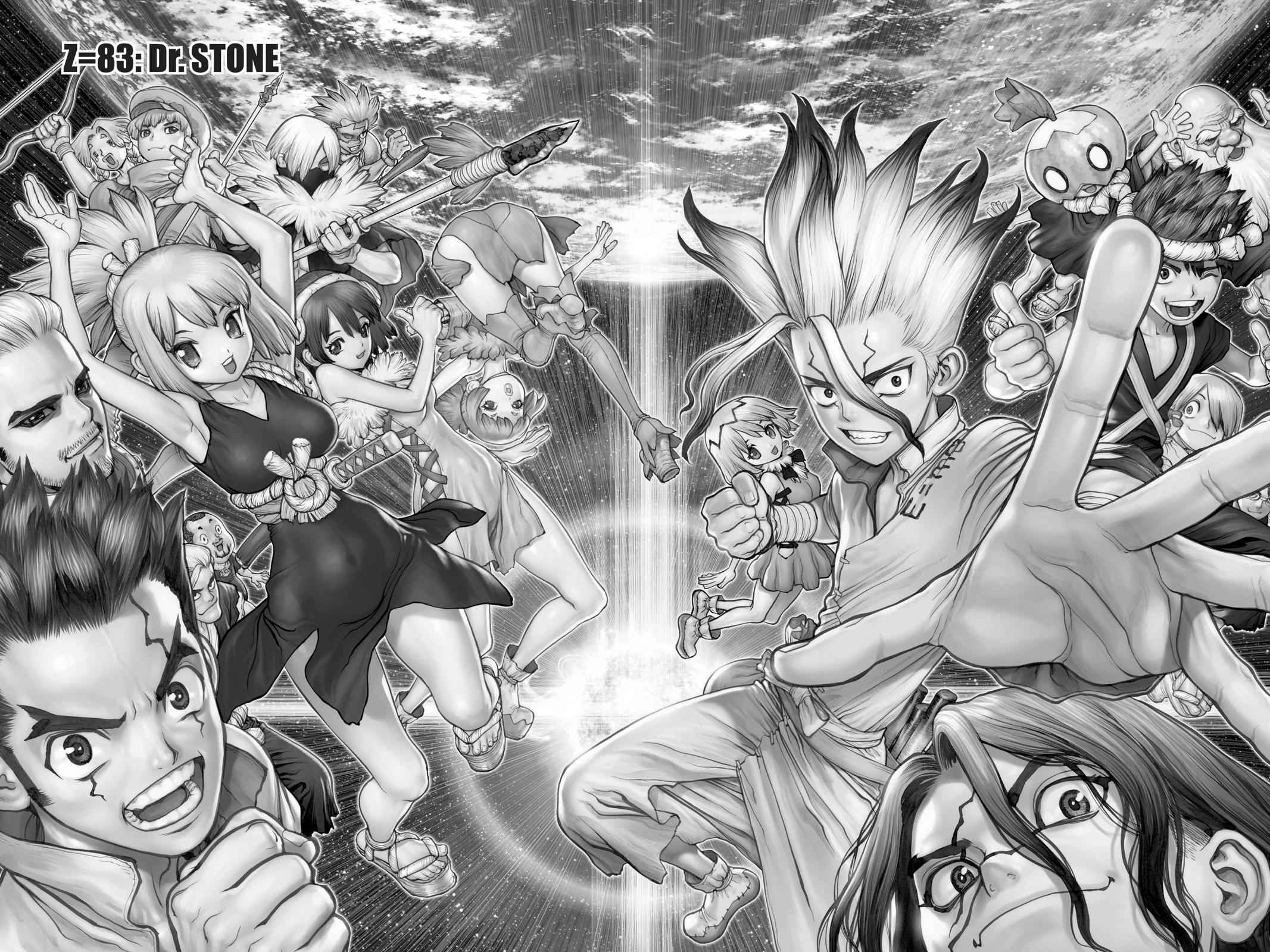 Dr. Stone Chapter 83 Page 2