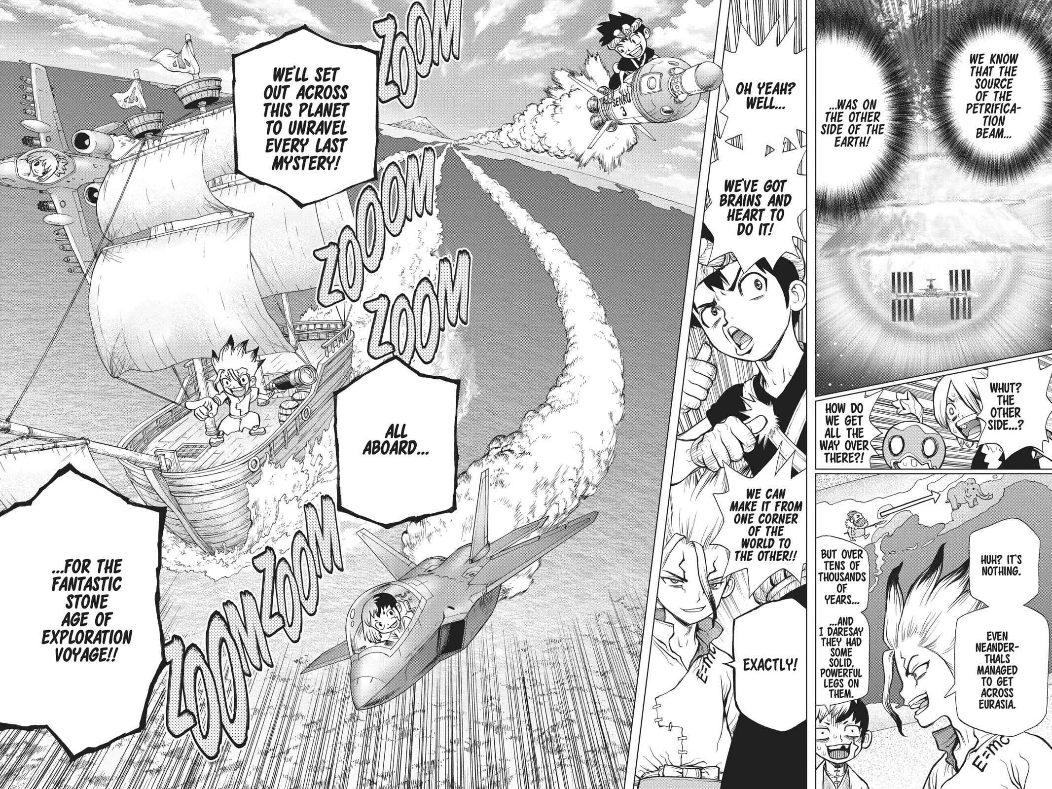 Dr. Stone Chapter 83 Page 21