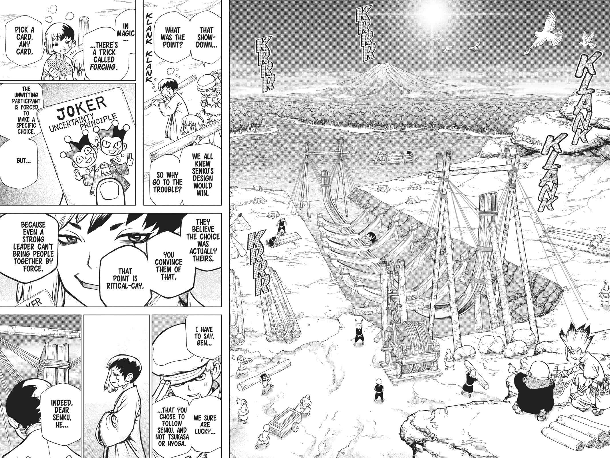 Dr. Stone Chapter 84 Page 16