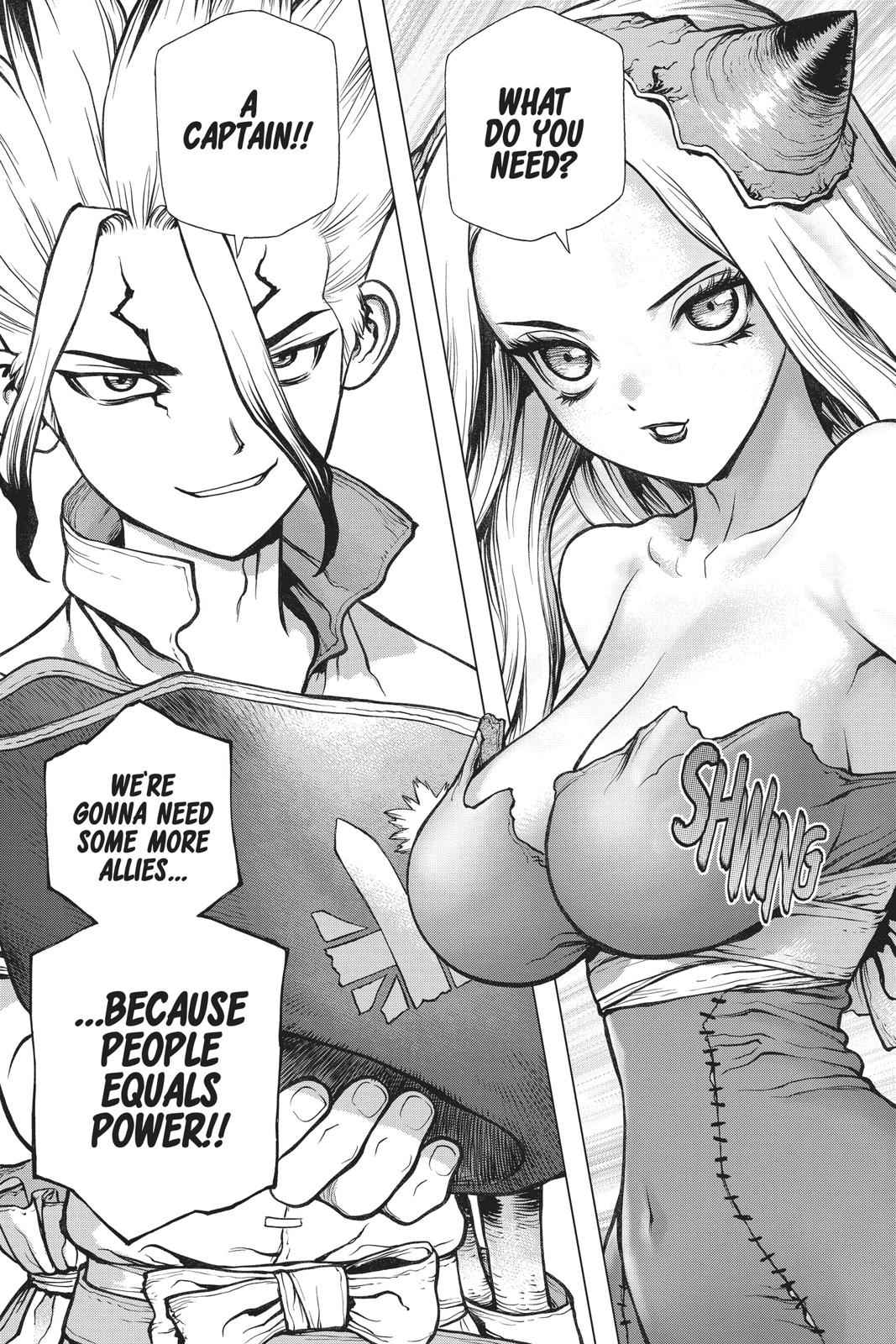 Dr. Stone Chapter 84 Page 18