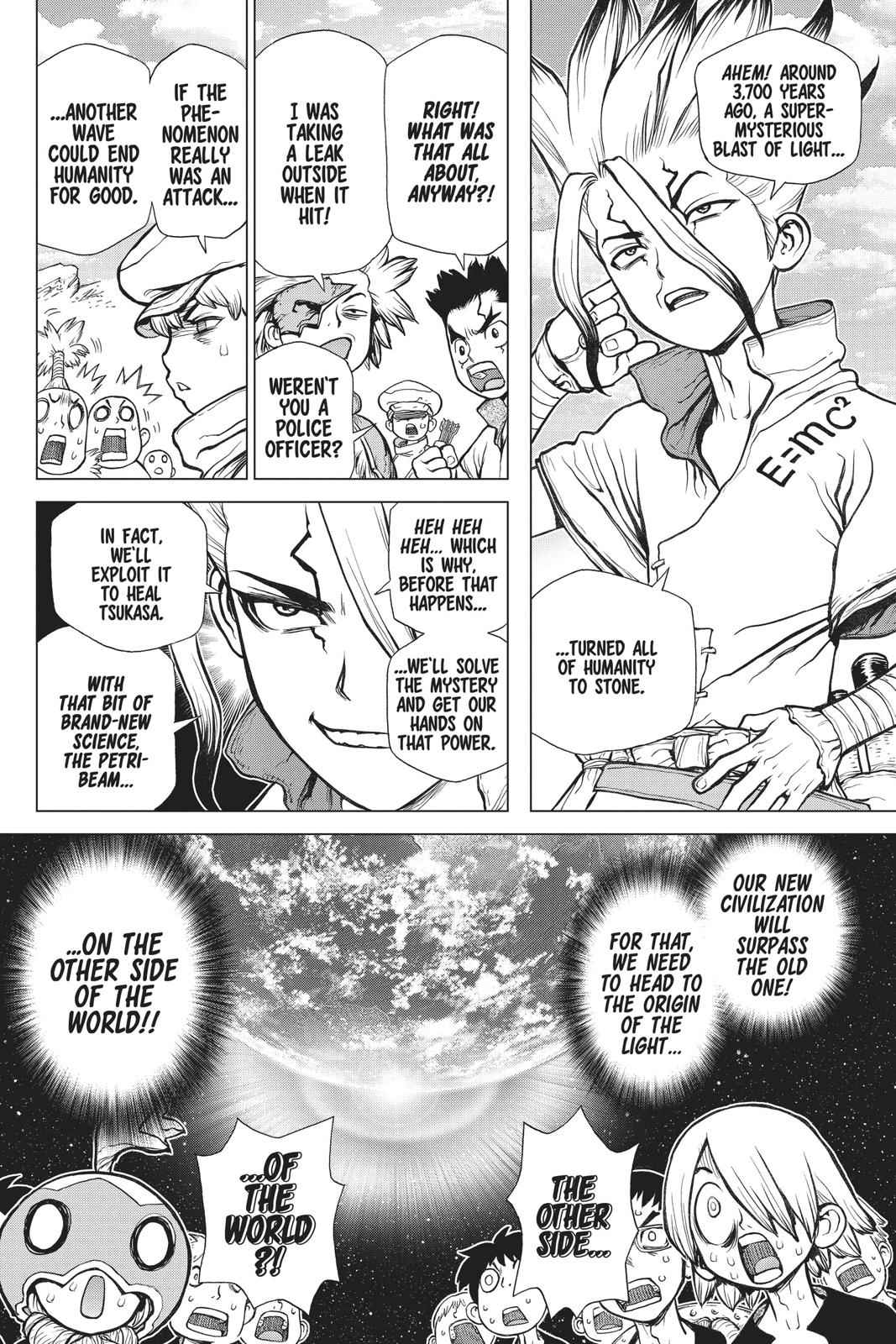 Dr. Stone Chapter 84 Page 2