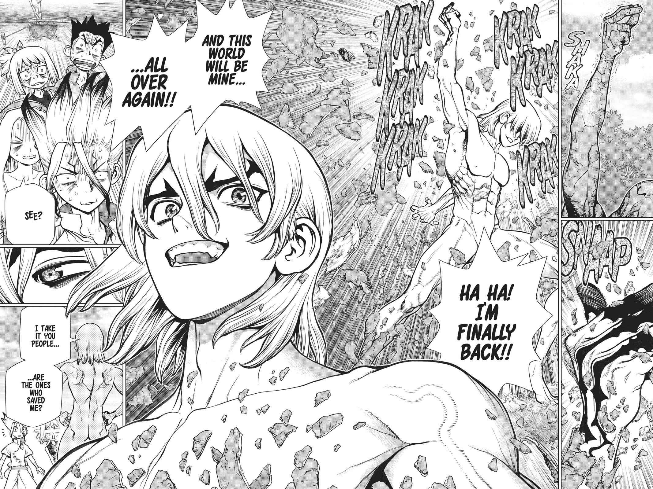 Dr. Stone Chapter 85 Page 10