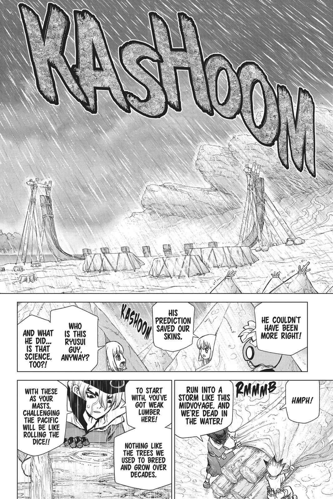 Dr. Stone Chapter 85 Page 15