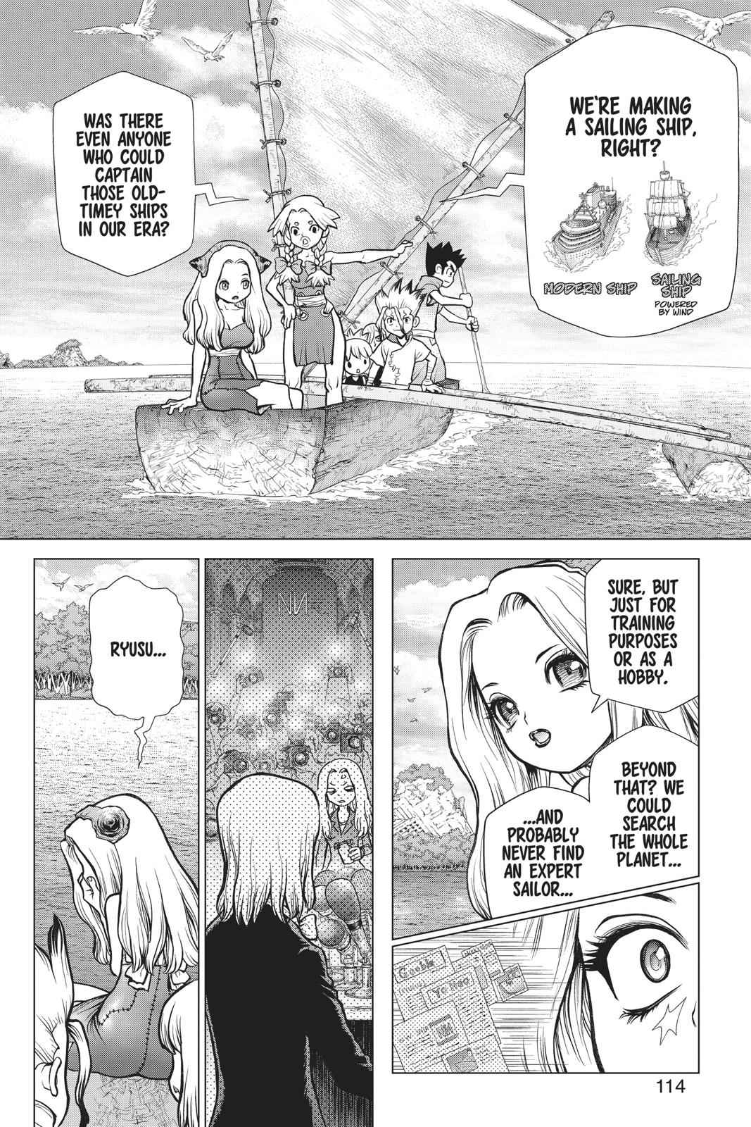 Dr. Stone Chapter 85 Page 4
