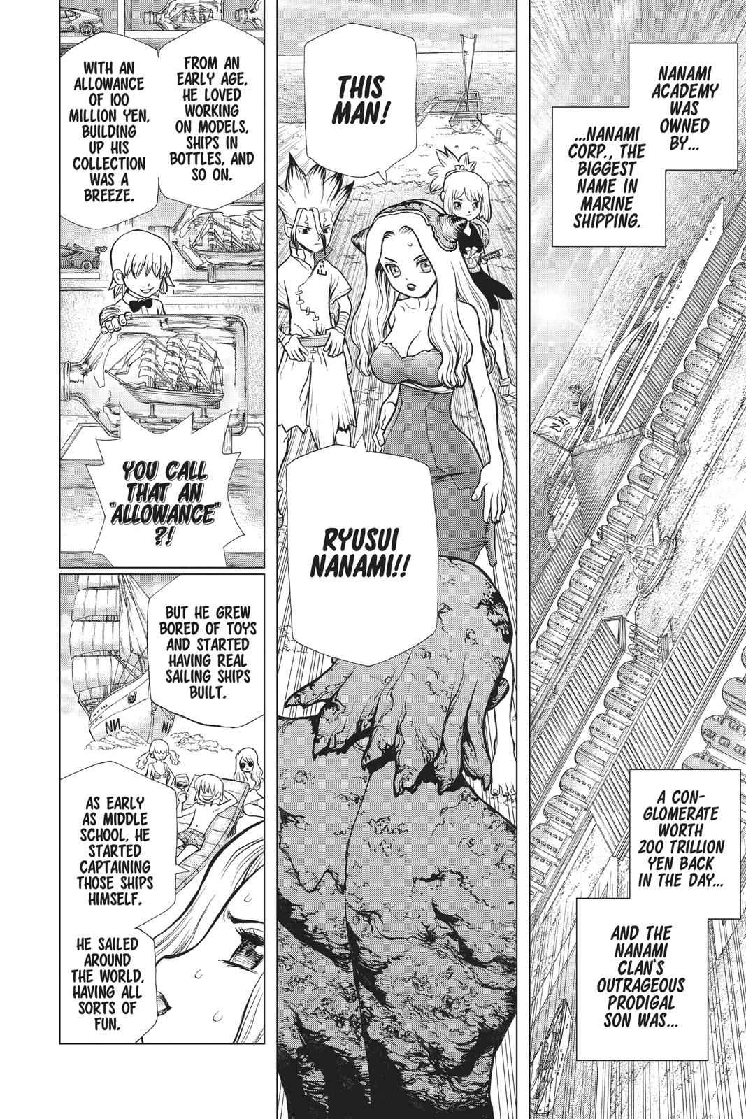 Dr. Stone Chapter 85 Page 8