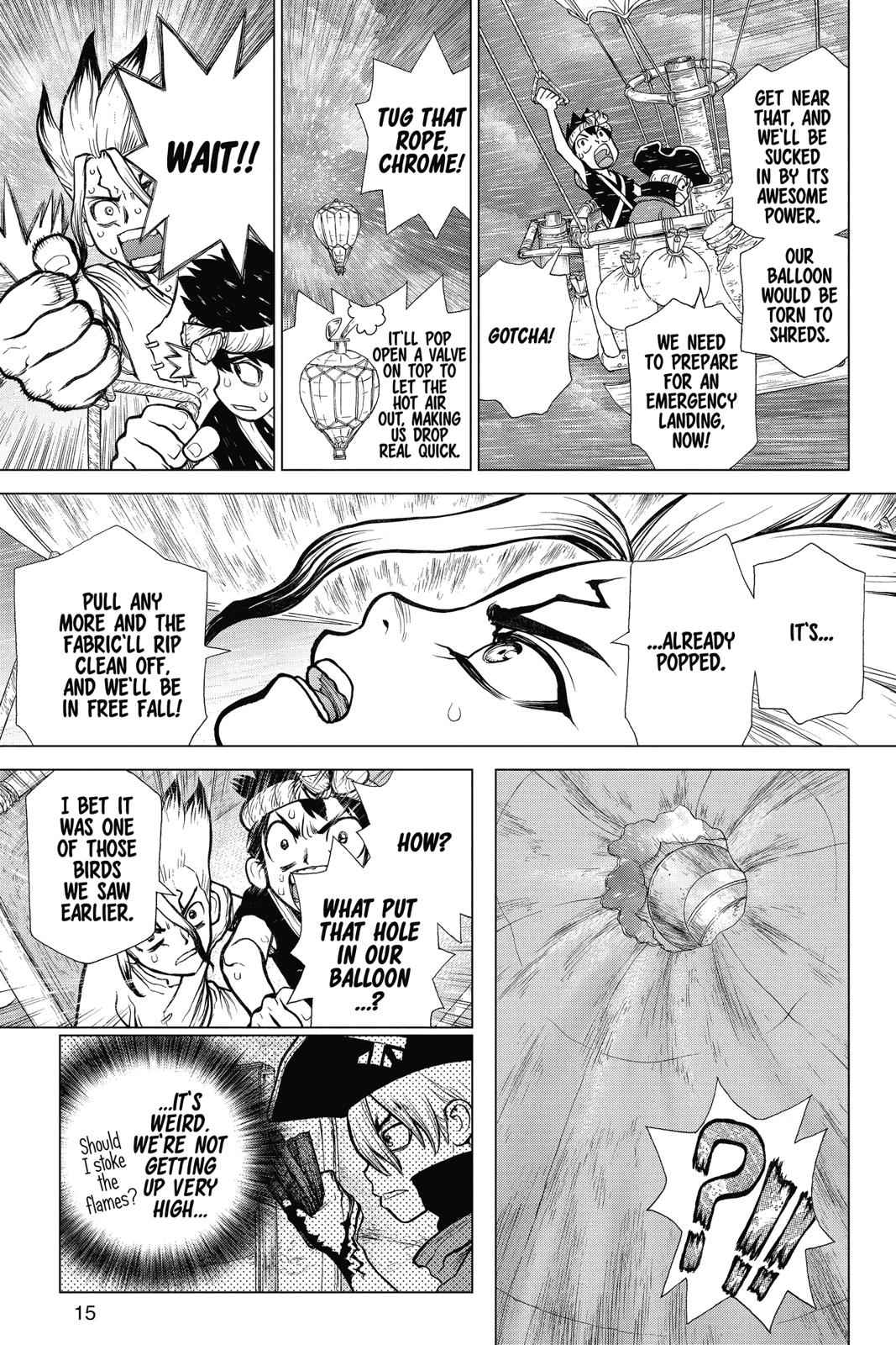 Dr. Stone Chapter 89 Page 14