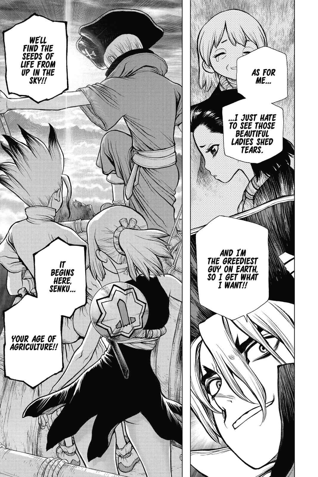 Dr. Stone Chapter 90 Page 14