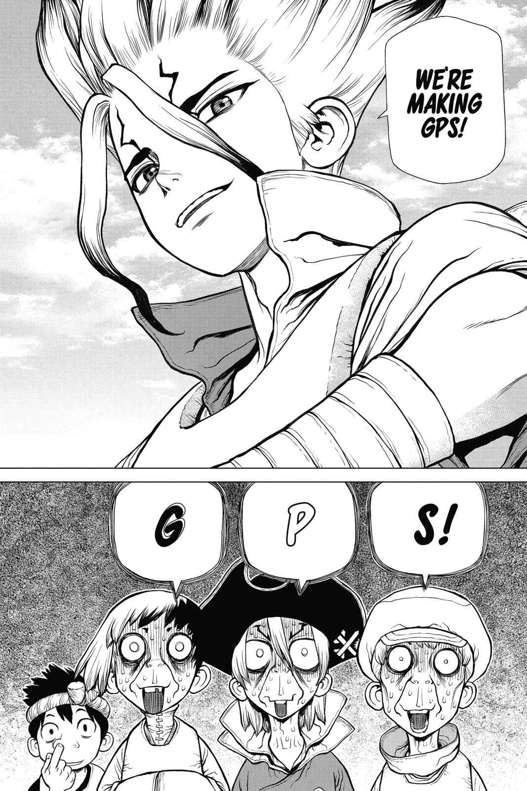 Dr. Stone Chapter 95 Page 12
