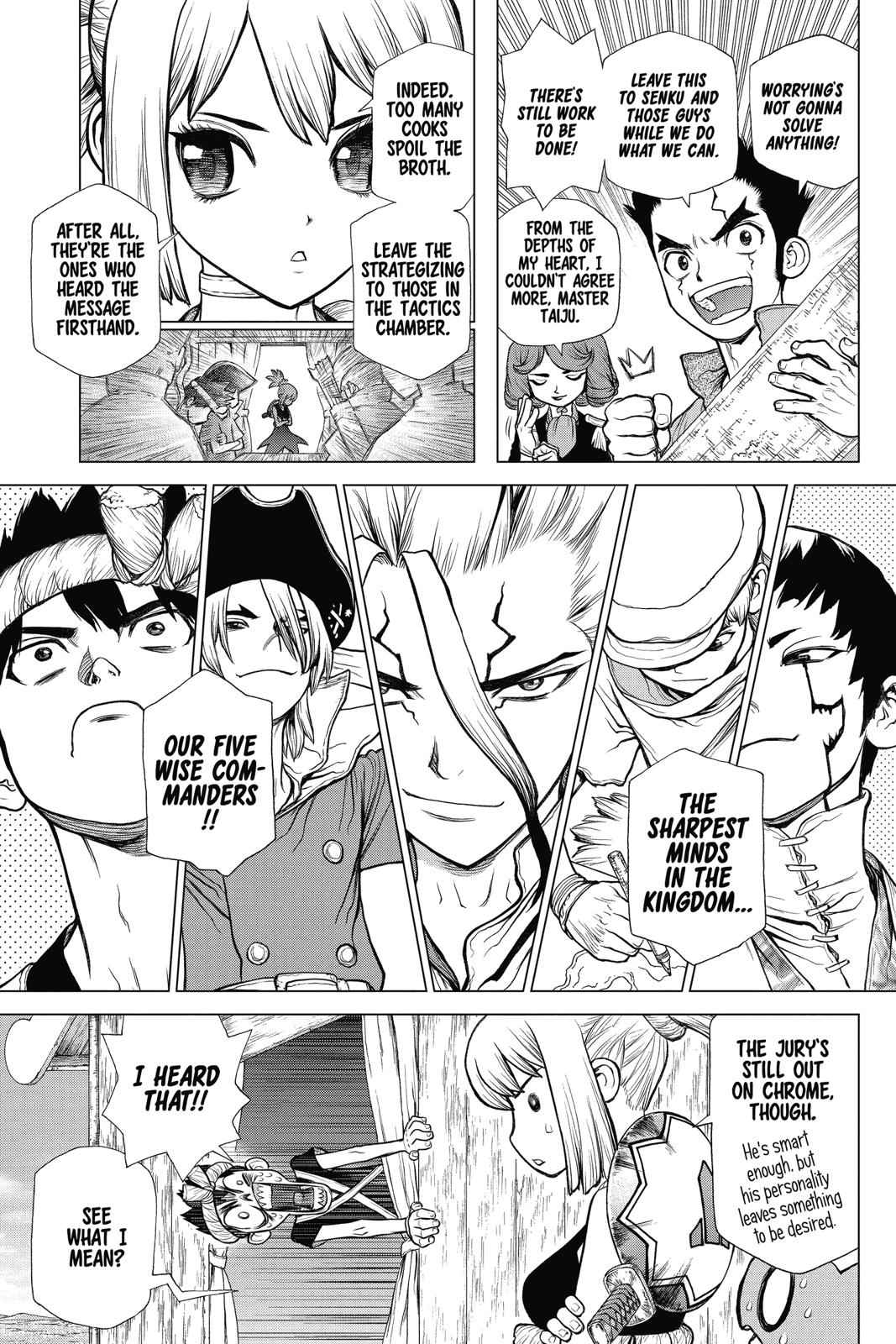 Dr. Stone Chapter 96 Page 5