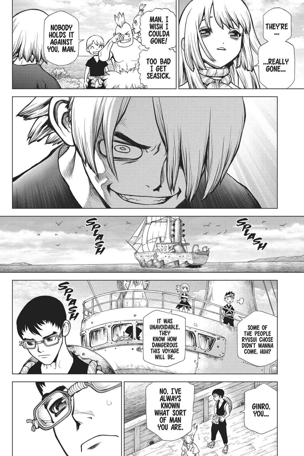 Dr. Stone Chapter 100 Page 14
