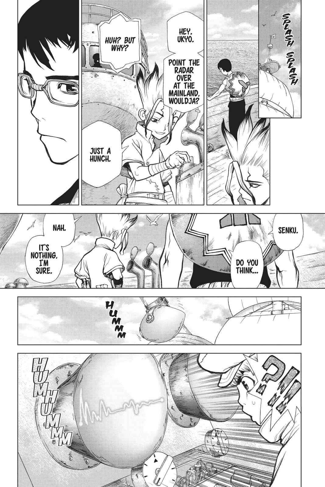 Dr. Stone Chapter 100 Page 18