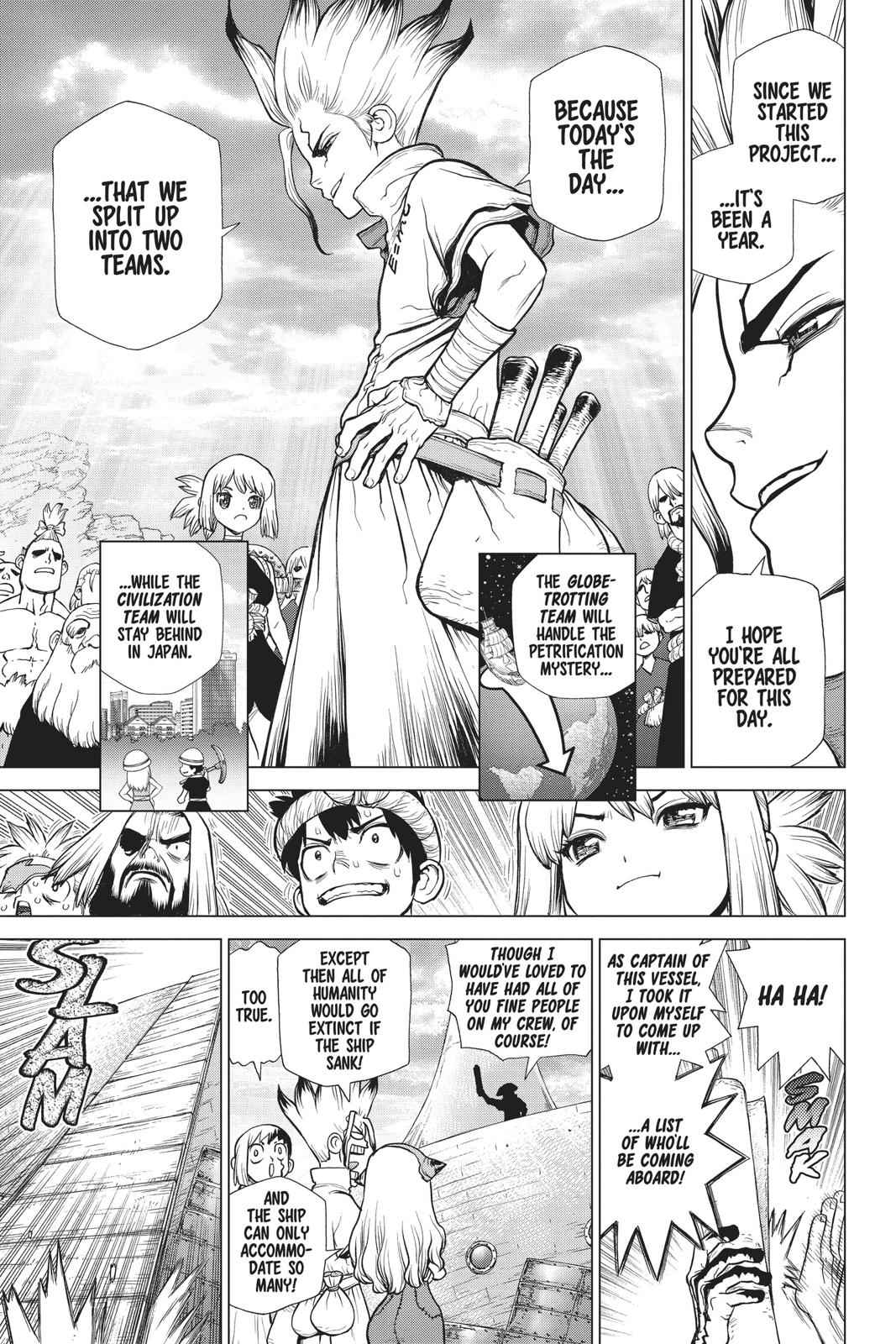 Dr. Stone Chapter 100 Page 3
