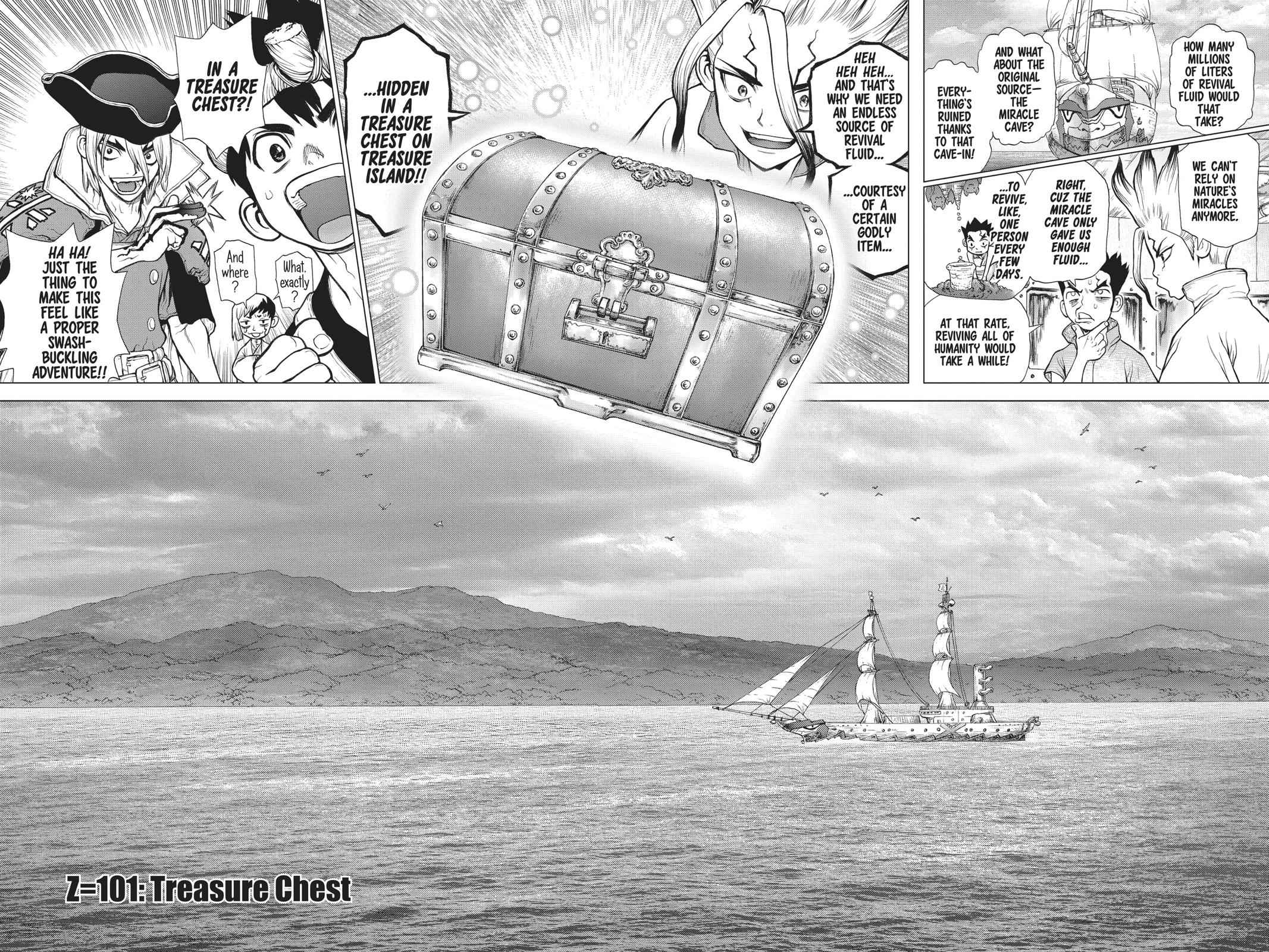 Dr. Stone Chapter 101 Page 2