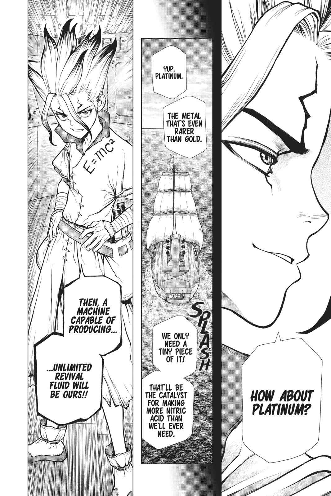 Dr. Stone Chapter 101 Page 9