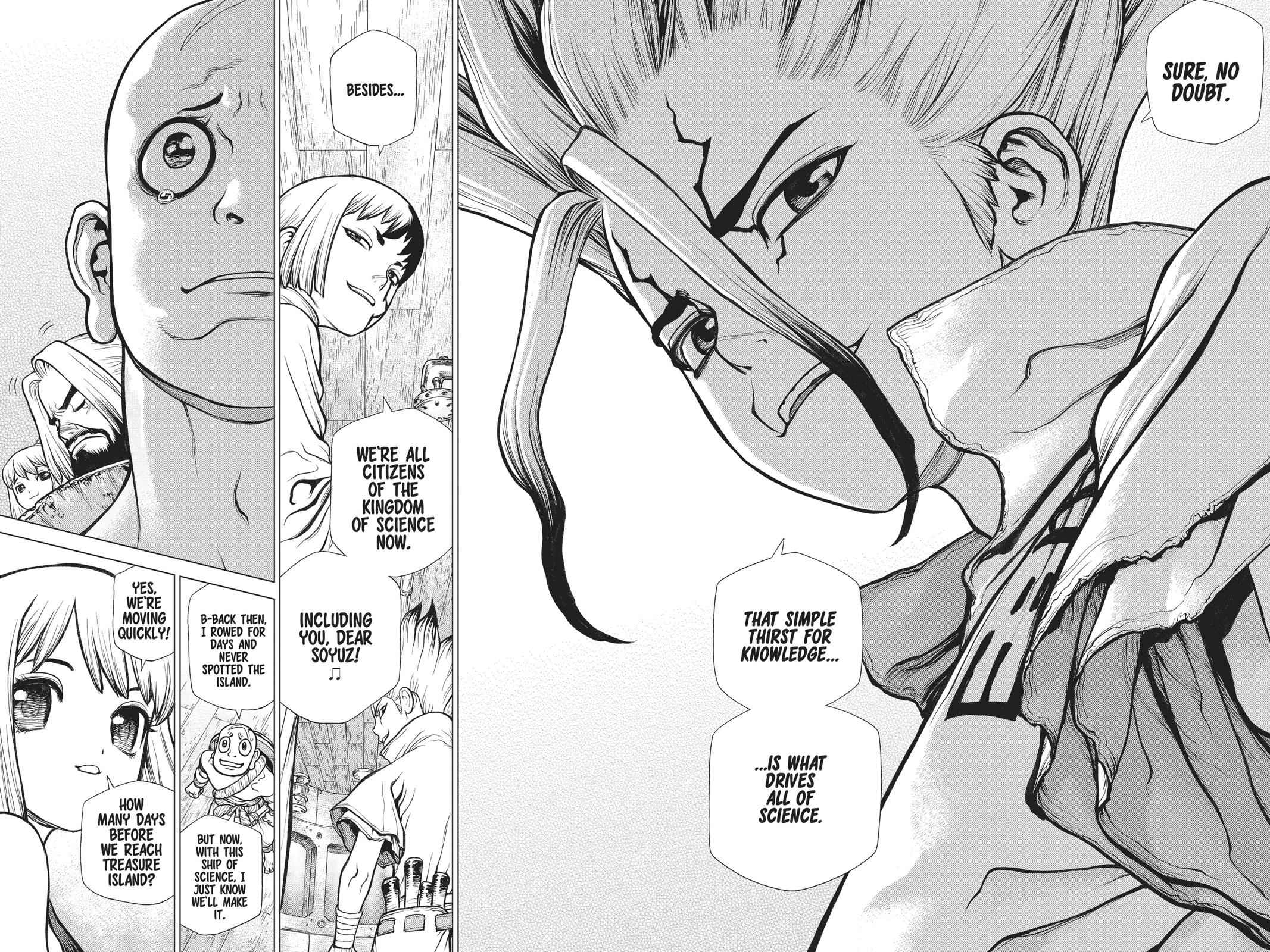 Dr. Stone Chapter 102 Page 6