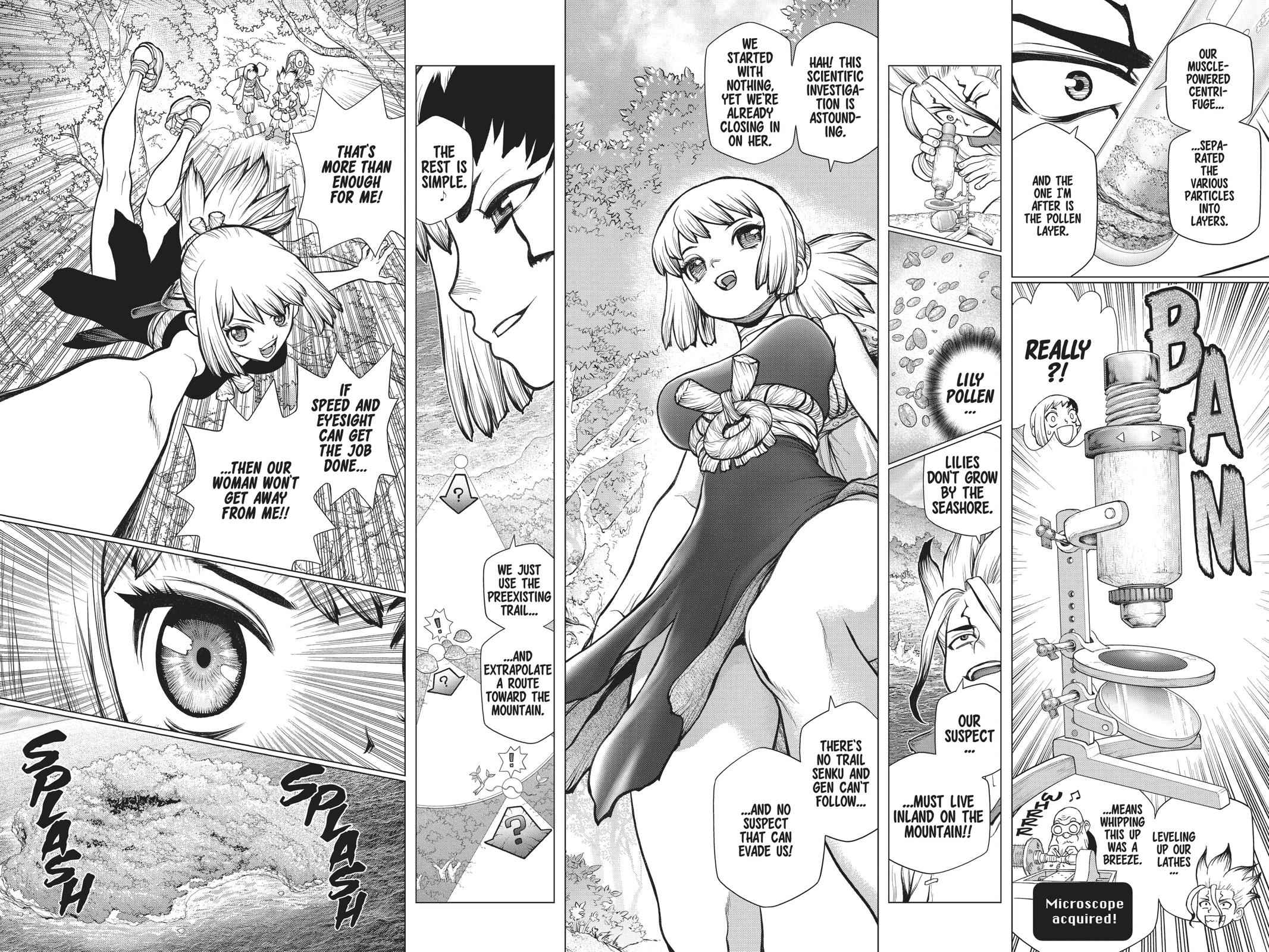 Dr. Stone Chapter 104 Page 13