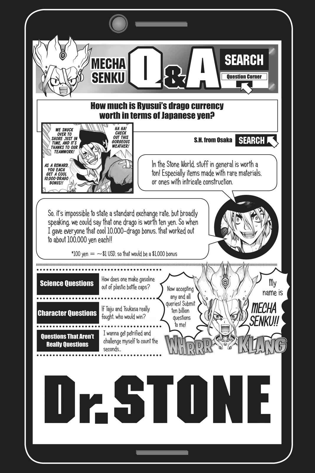 Dr. Stone Chapter 104 Page 17