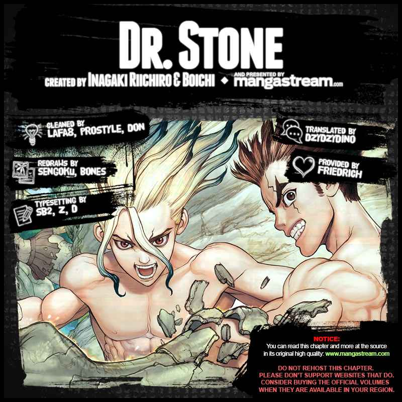 Dr. Stone Chapter 110 Page 2