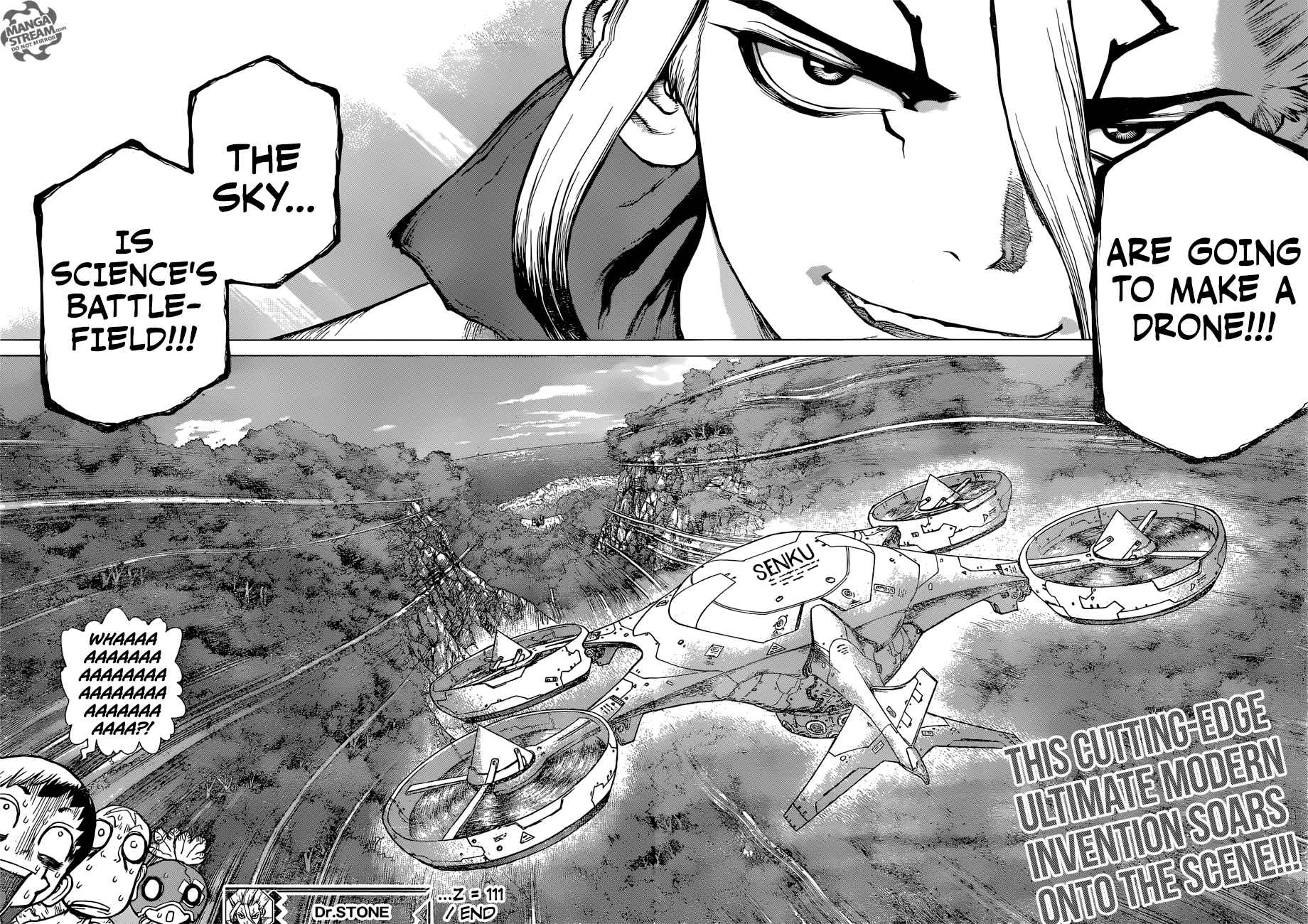 Dr. Stone Chapter 111 Page 21