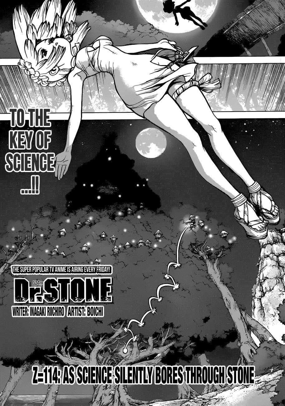 Dr. Stone Chapter 114 Page 1