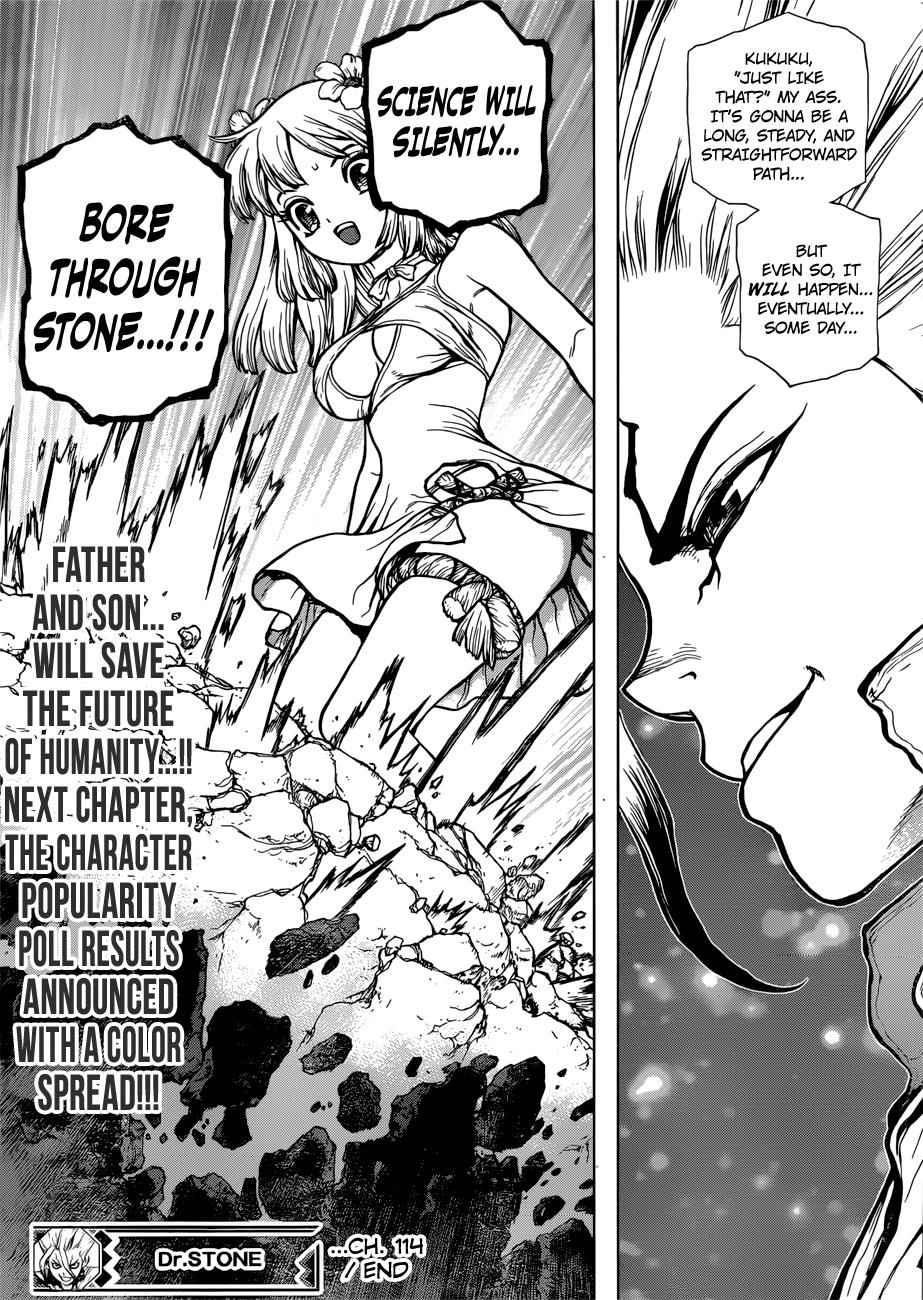 Dr. Stone Chapter 114 Page 19