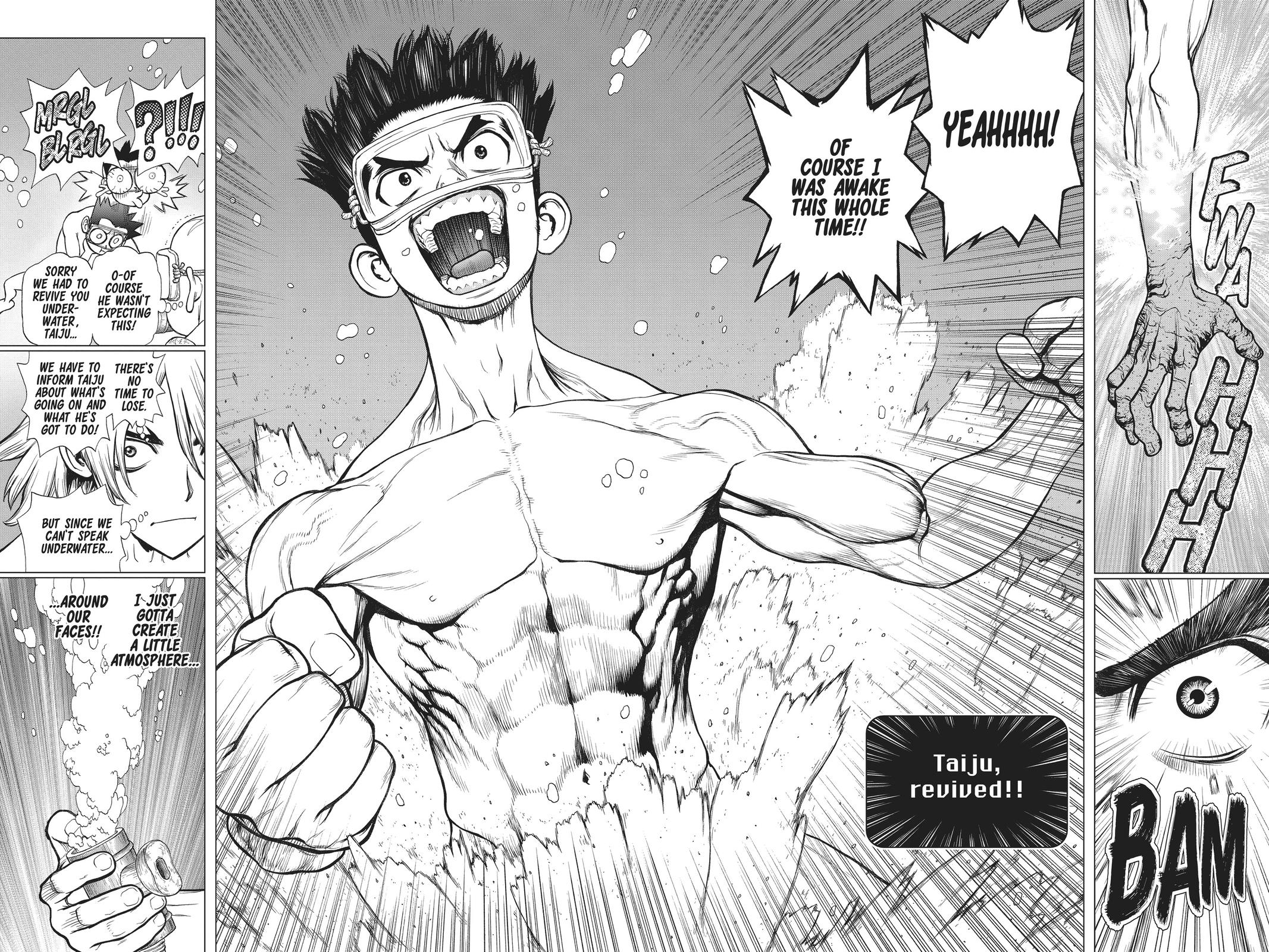 Dr. Stone Chapter 118 Page 11