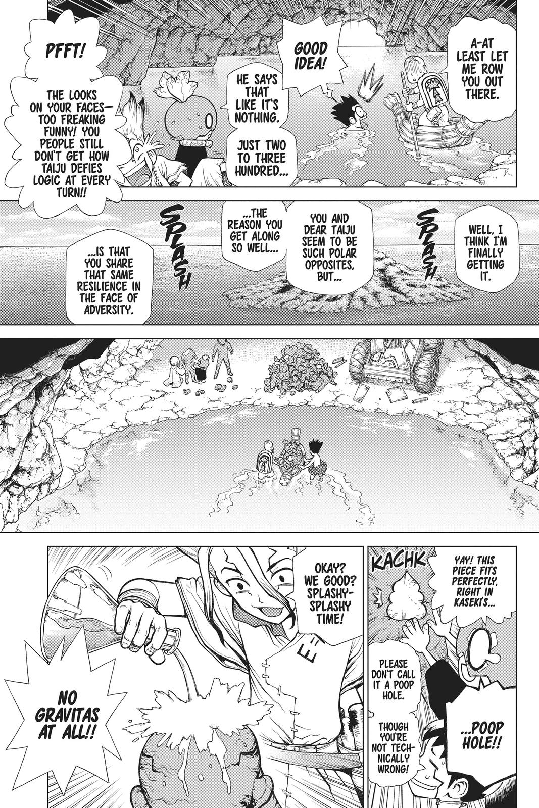 Dr. Stone Chapter 119 Page 5