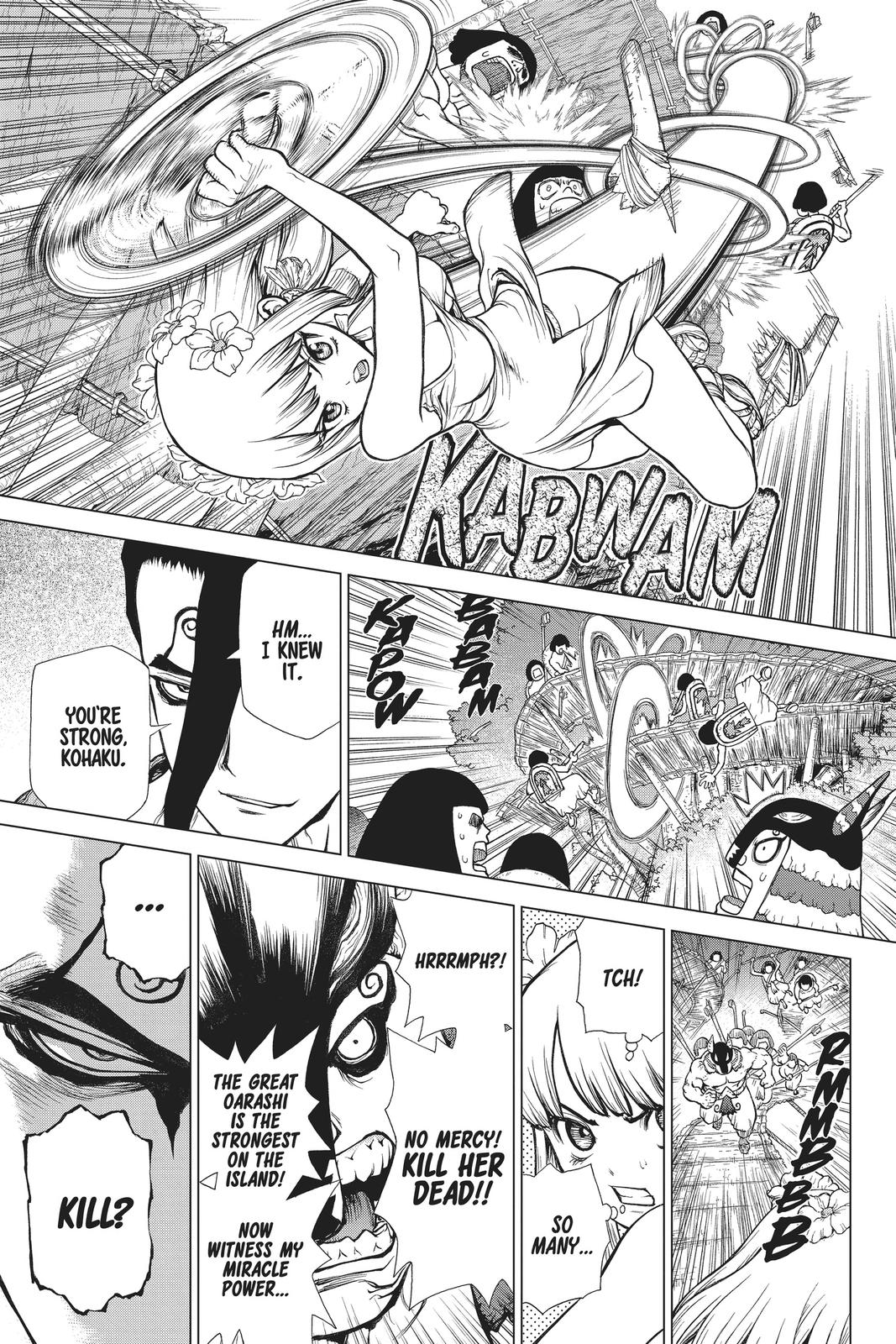 Dr. Stone Chapter 120 Page 11