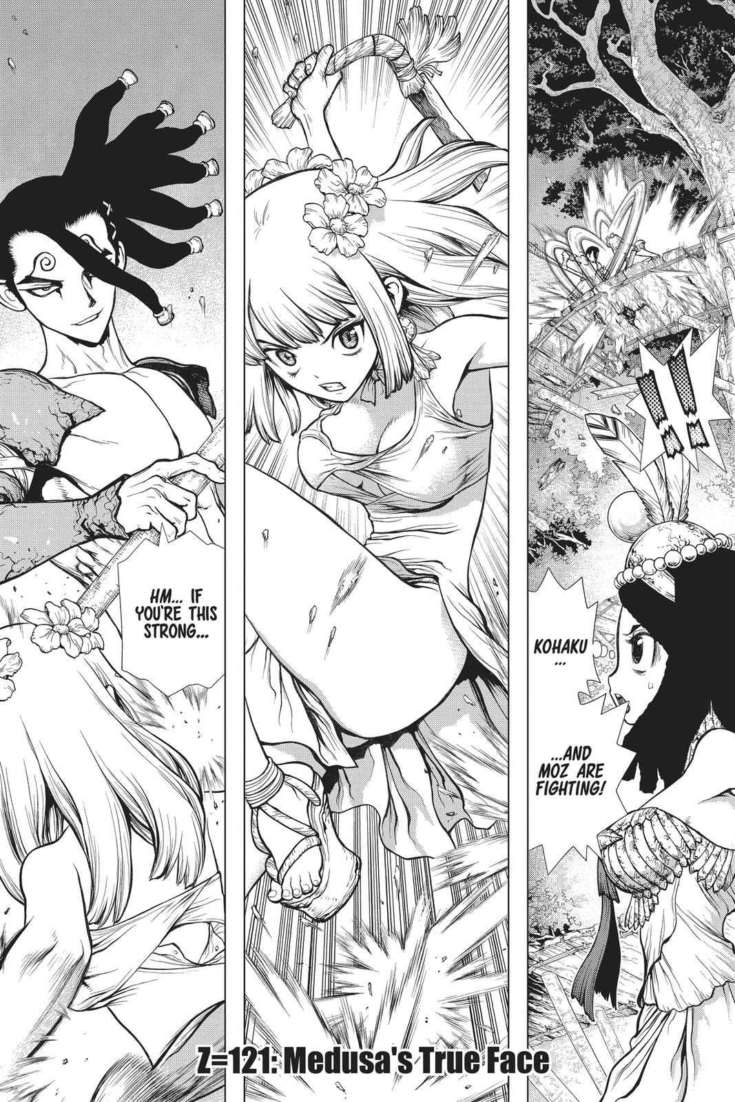 Dr. Stone Chapter 121 Page 1