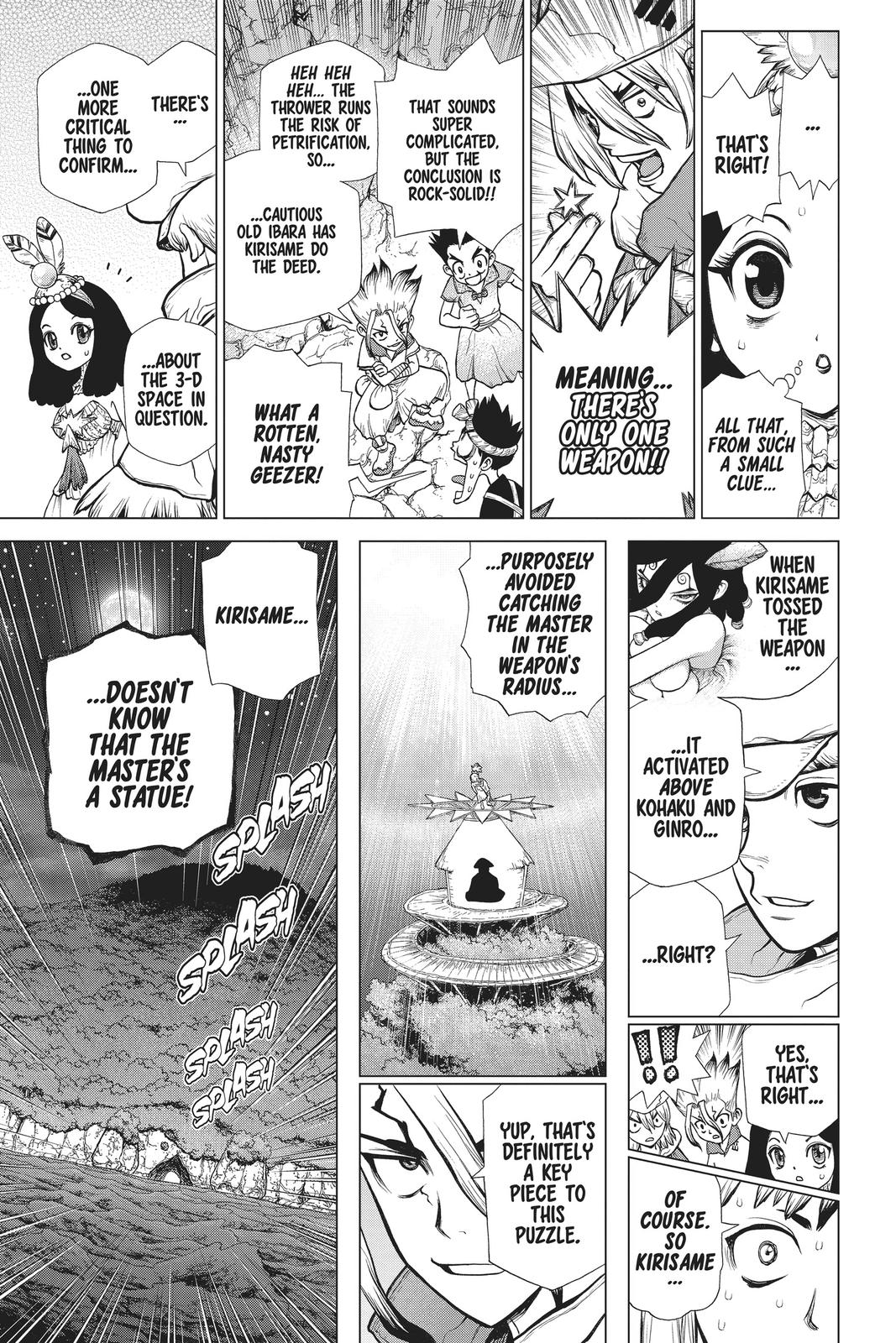 Dr. Stone Chapter 122 Page 11