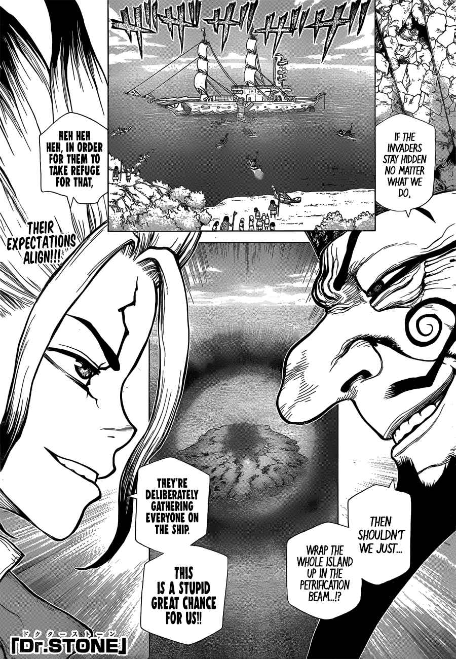 Dr. Stone Chapter 128 Page 1