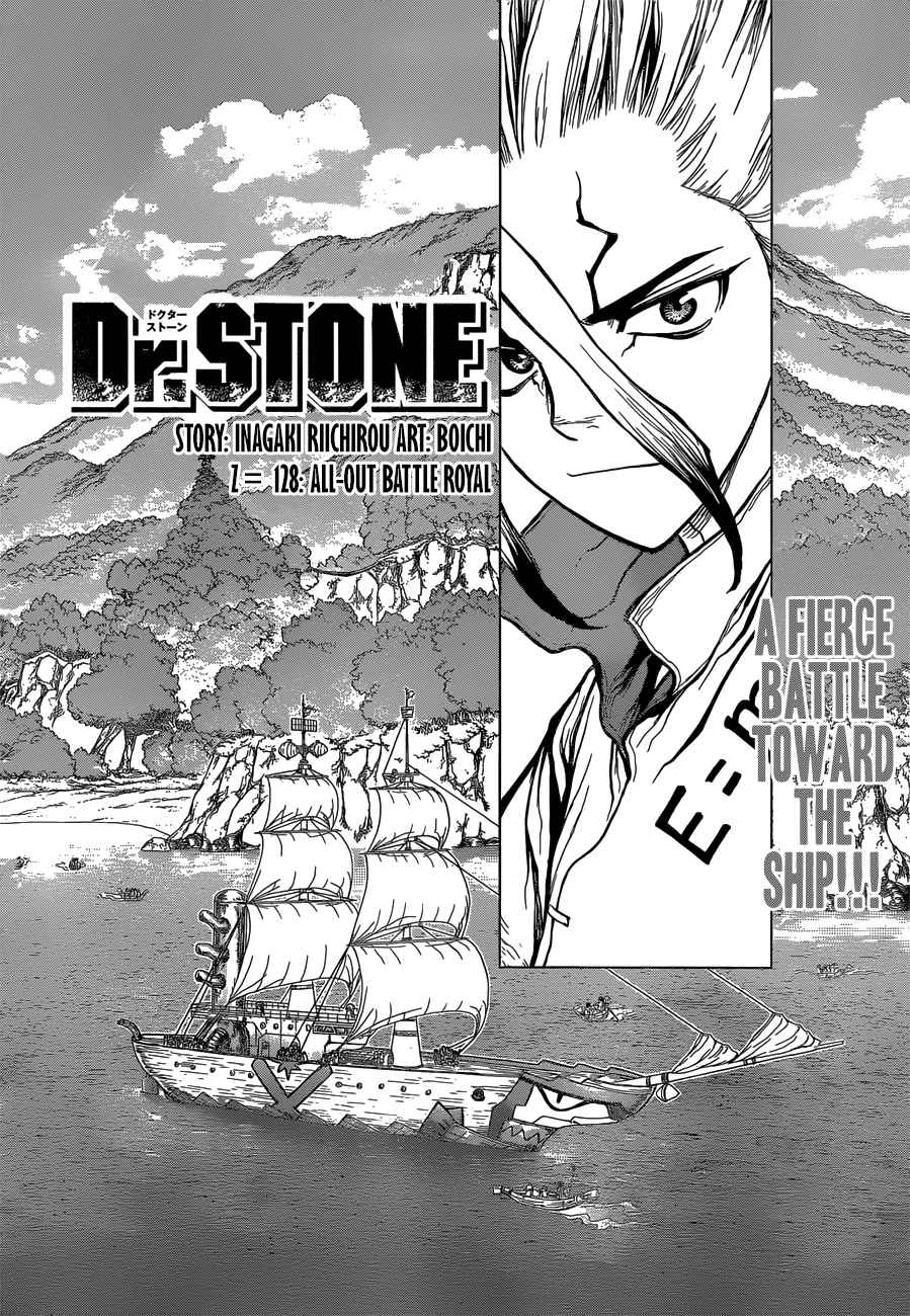 Dr. Stone Chapter 128 Page 3