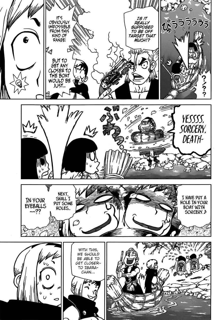 Dr. Stone Chapter 128 Page 8