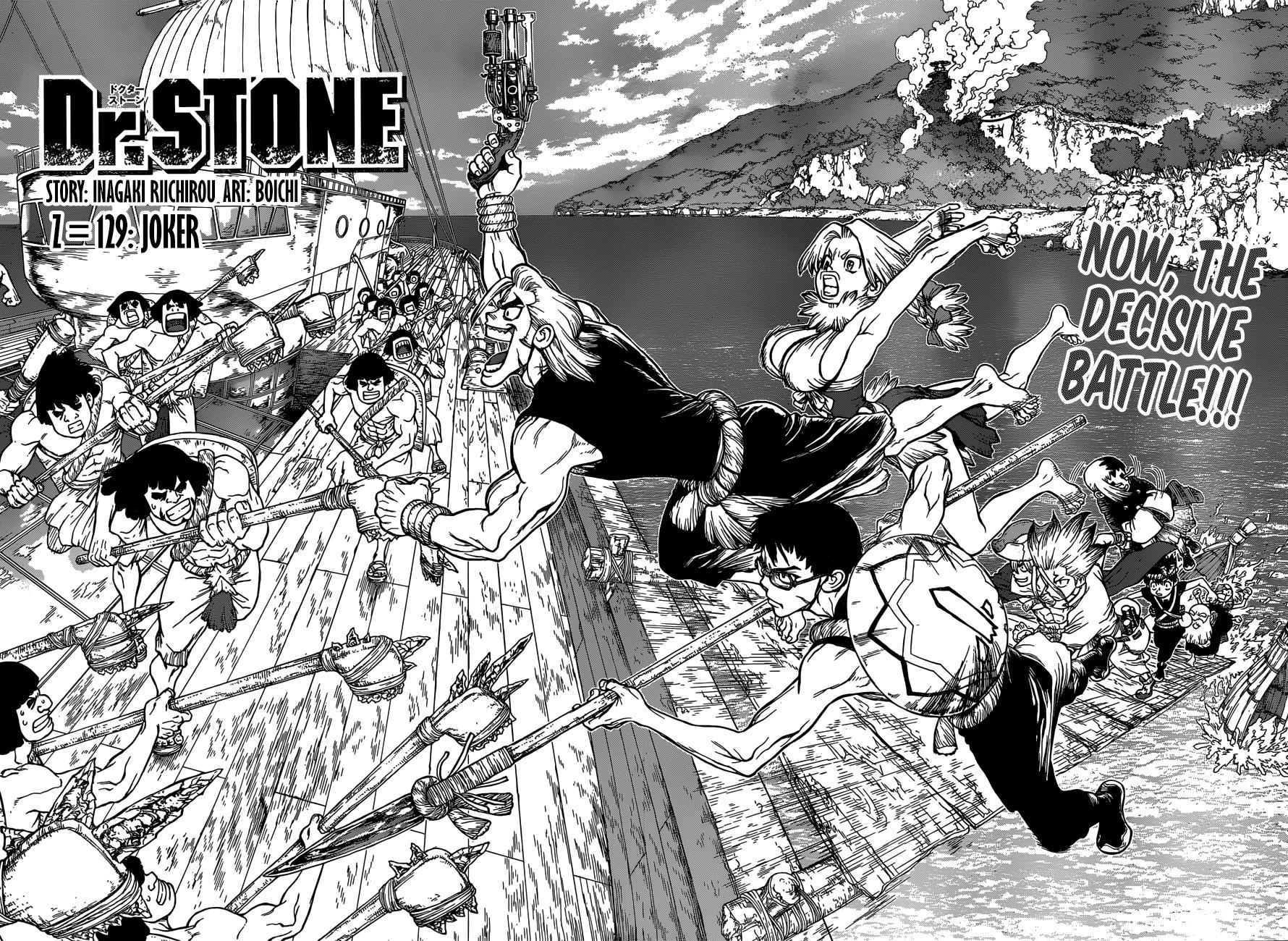 Dr. Stone Chapter 129 Page 3