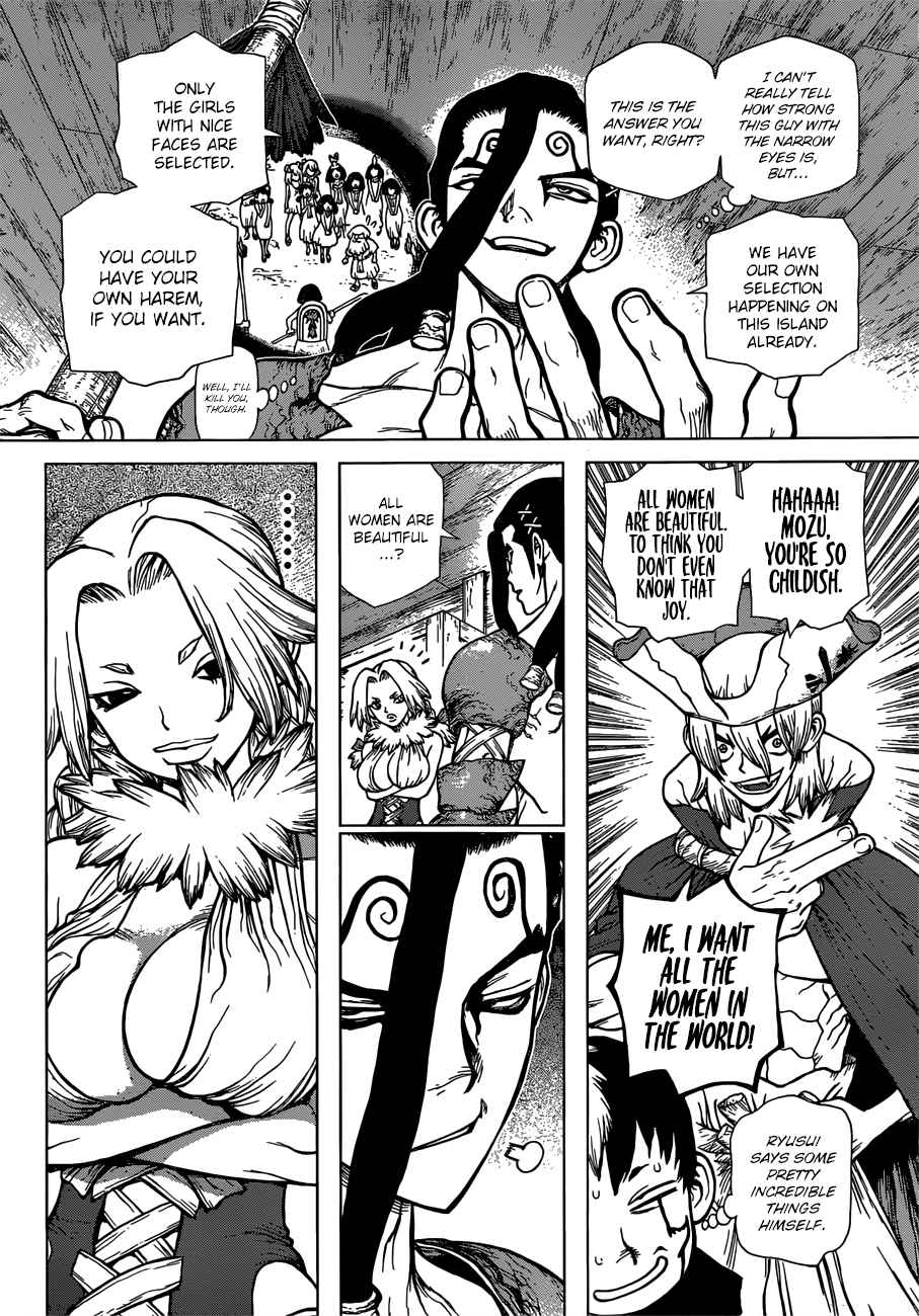 Dr. Stone Chapter 130 Page 14