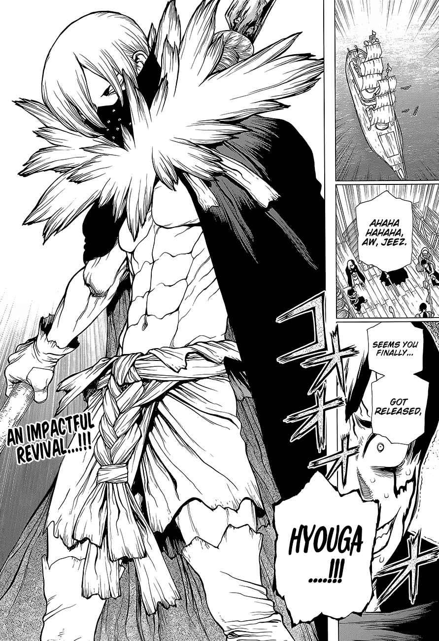 Dr. Stone Chapter 130 Page 3
