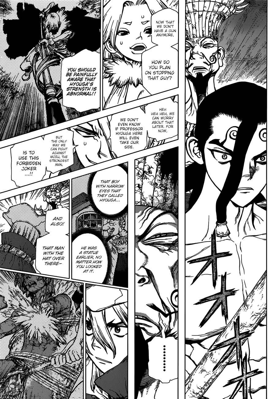 Dr. Stone Chapter 130 Page 4