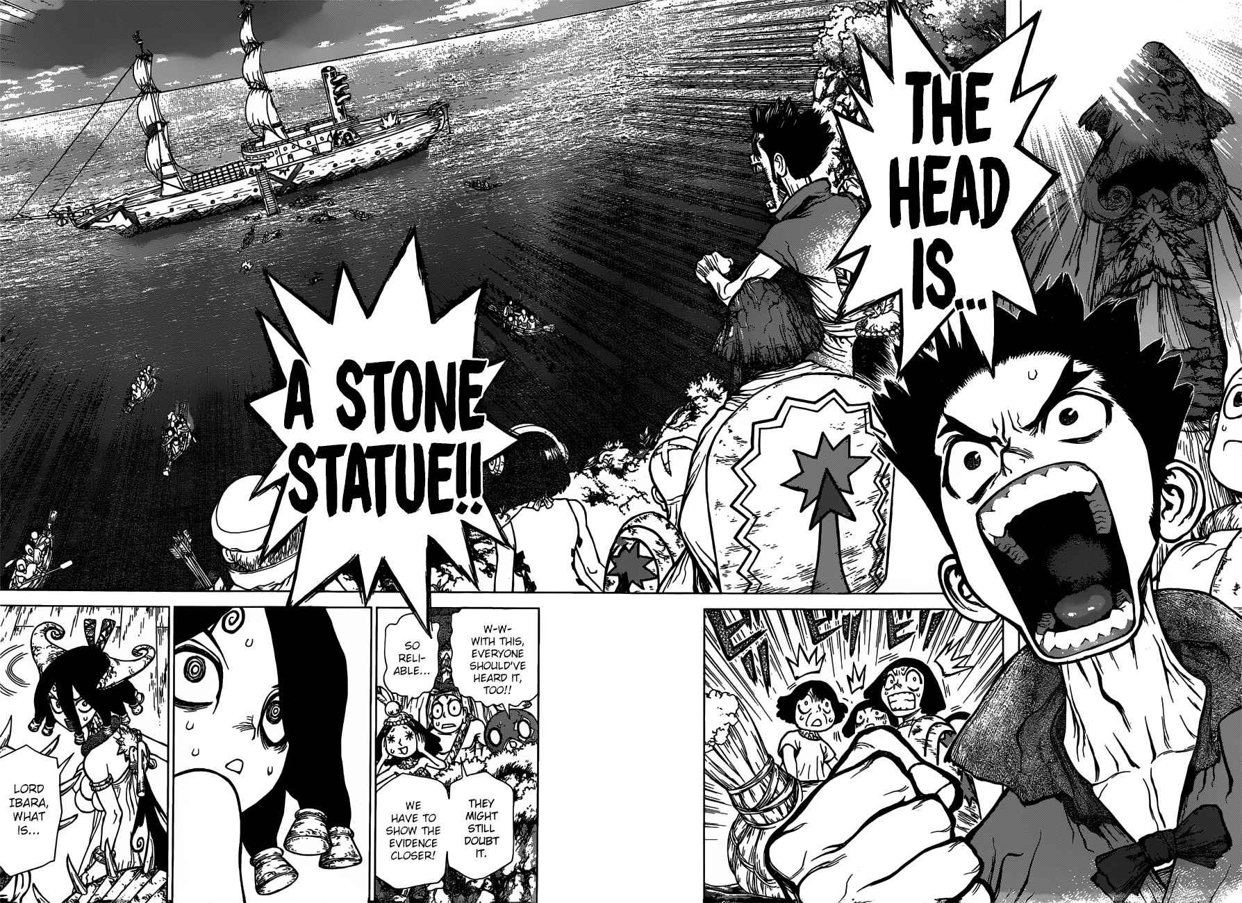 Dr. Stone Chapter 131 Page 10