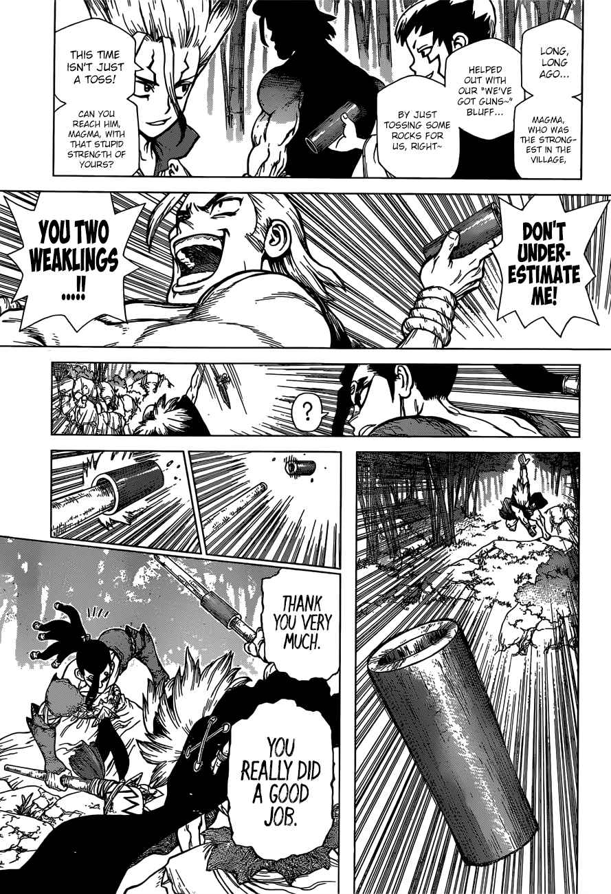 Dr. Stone Chapter 132 Page 12