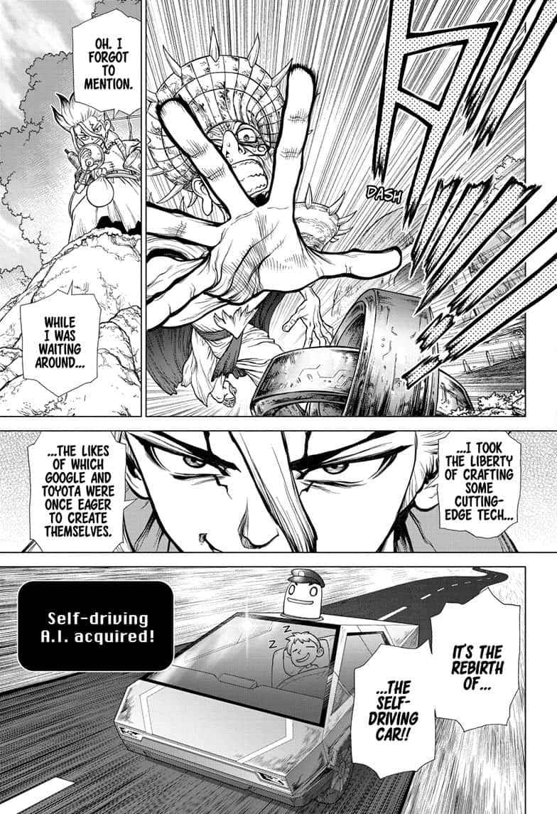 Dr. Stone Chapter 135 Page 15