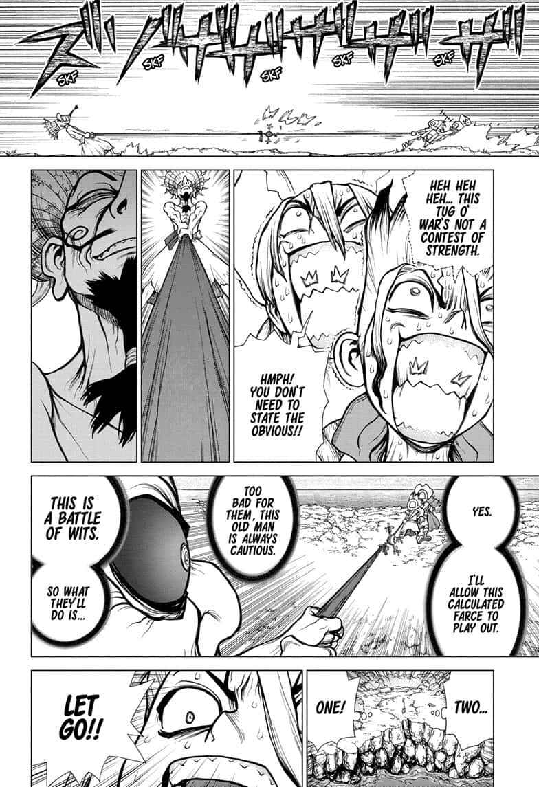 Dr. Stone Chapter 137 Page 4